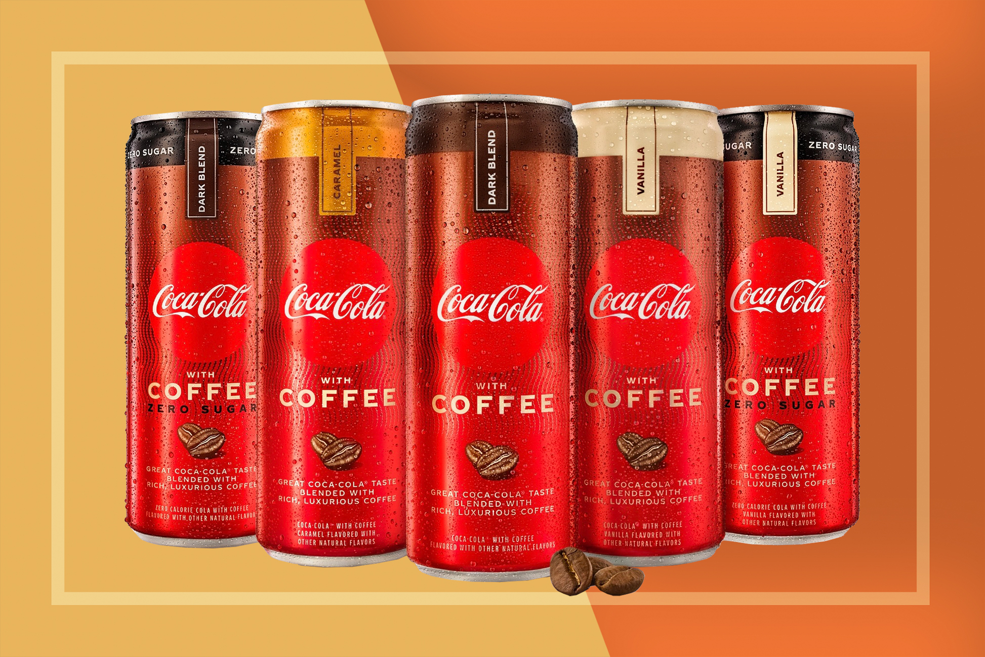 Coca-Cola with Coffee Cans