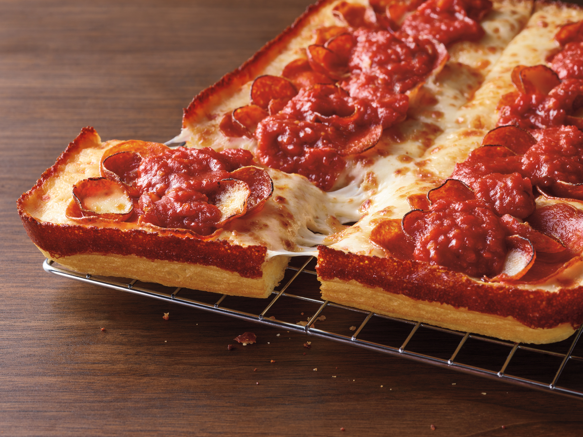 Pizza Hut Detroit Style Pizza