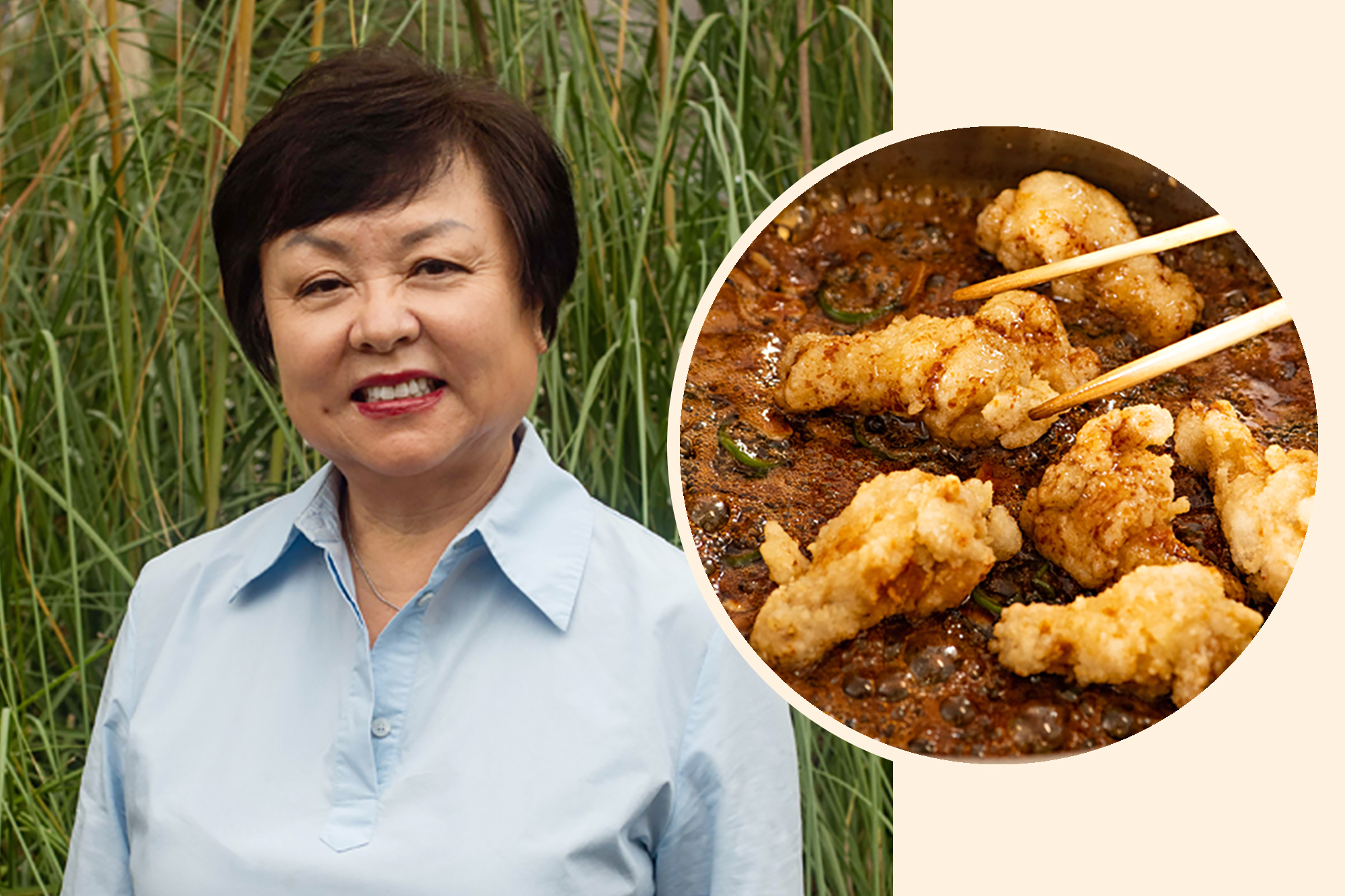 Auntie Georgia Song and her Dakgangjeong (Korean Fried Chicken with Soy Sauce)