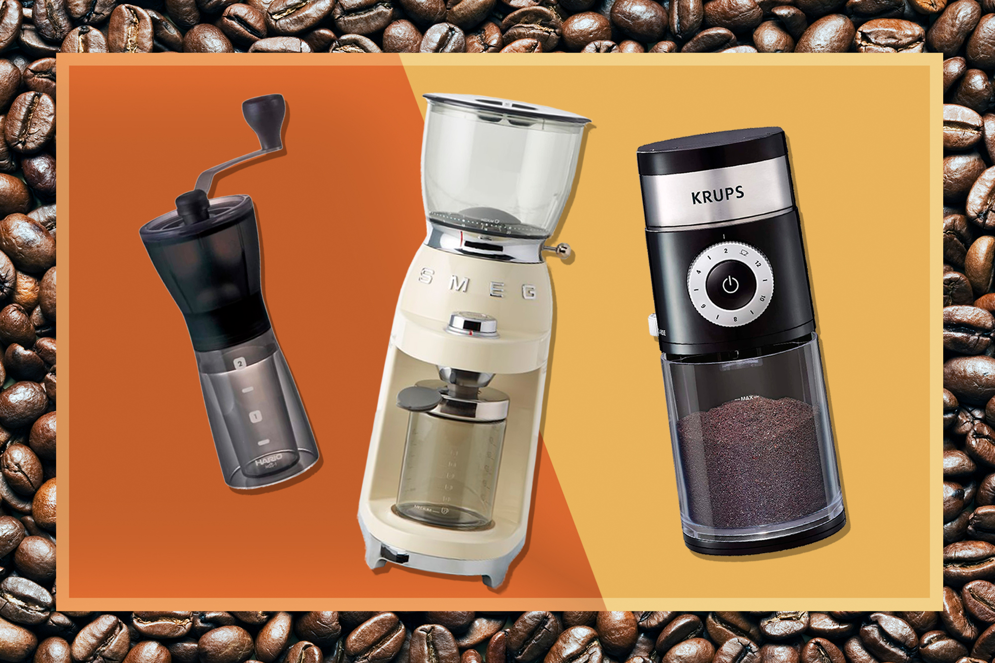 The 8 Best Coffee Grinders for Fresh, Flavorful Drinks Every Single Time
