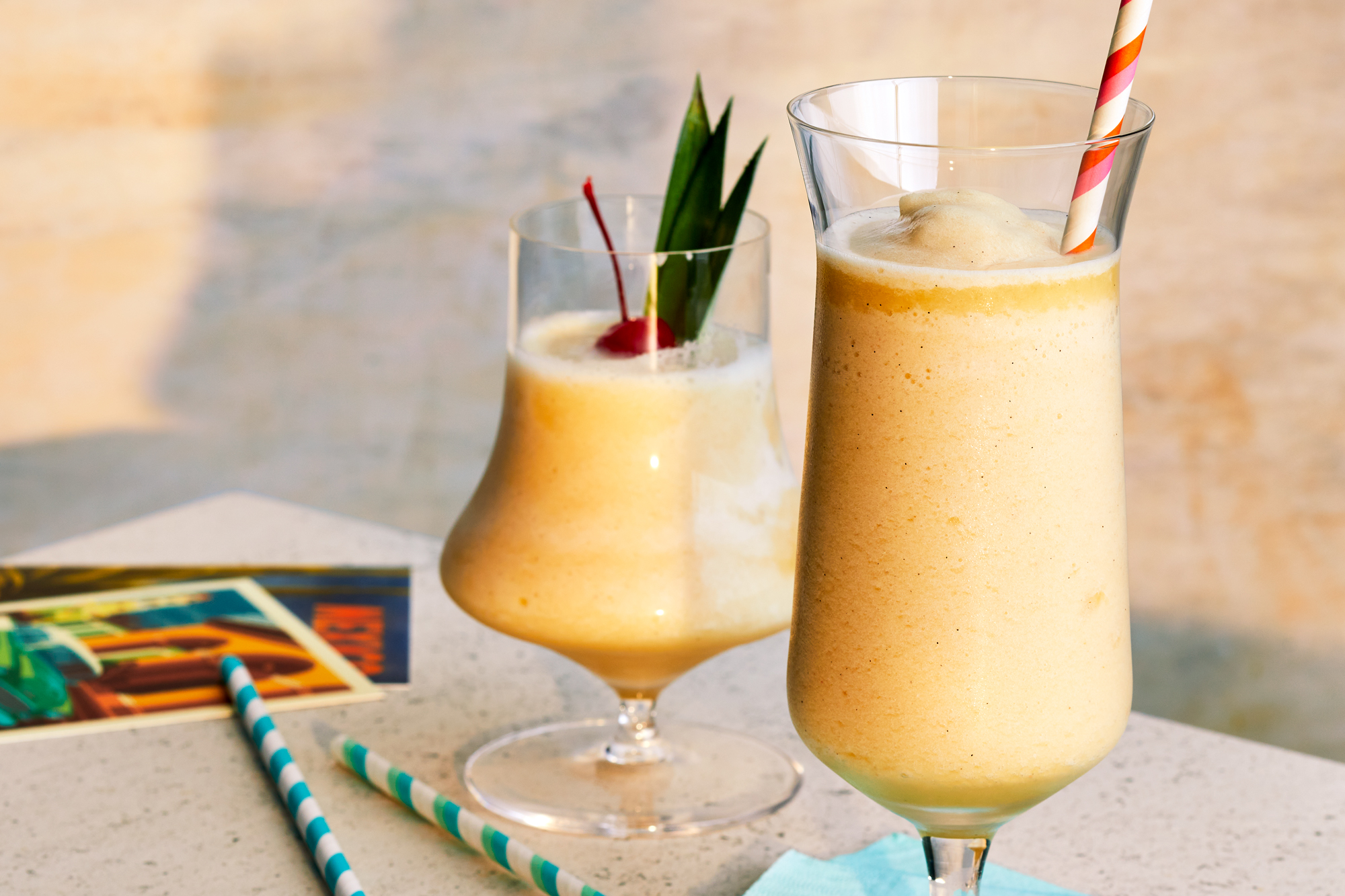 Fresh and Easy Piña Coladas