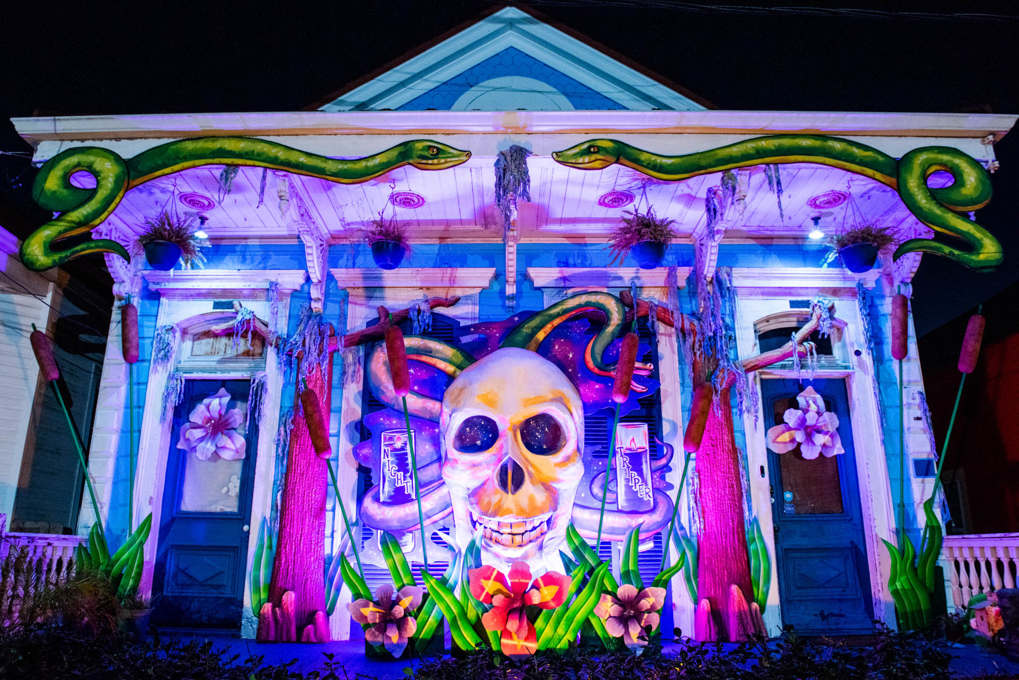 The Night Tripper House Float