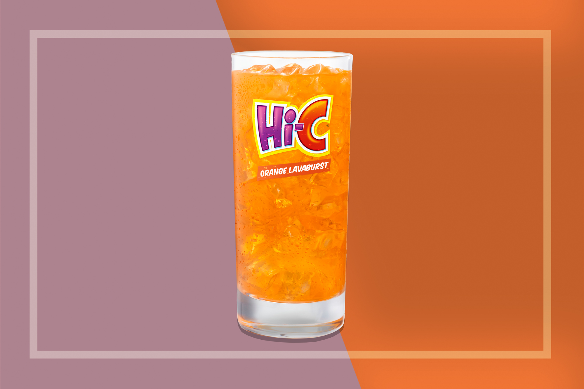 Hi-C Orange Lavaburst Drink