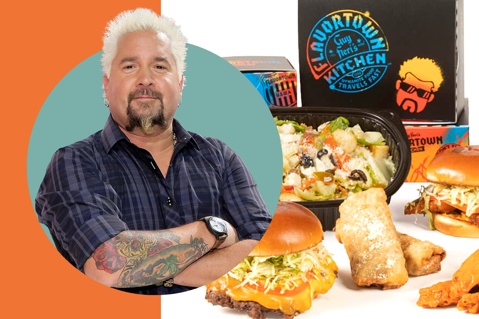 Image result for guy fieri ghost kitchen bertucci's