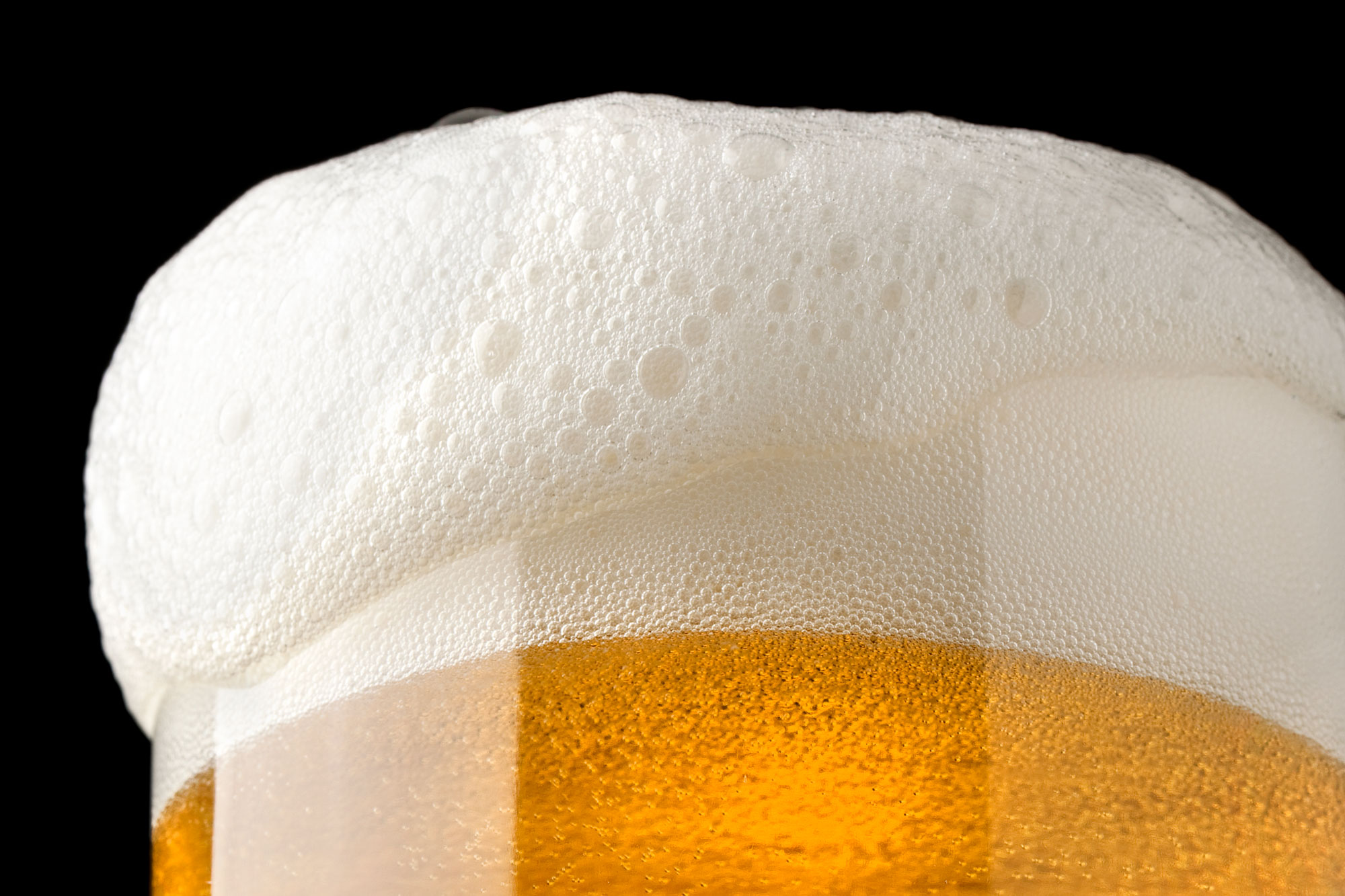 beer and froth