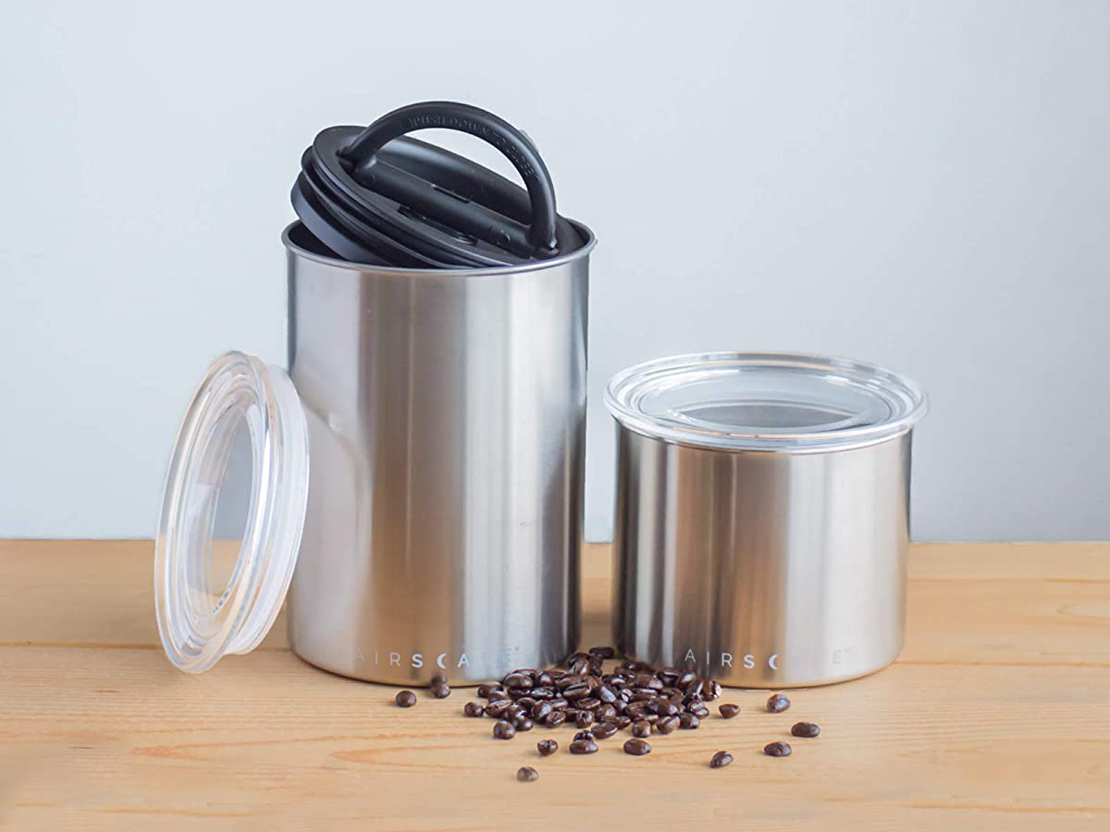 airscape coffee bean canister