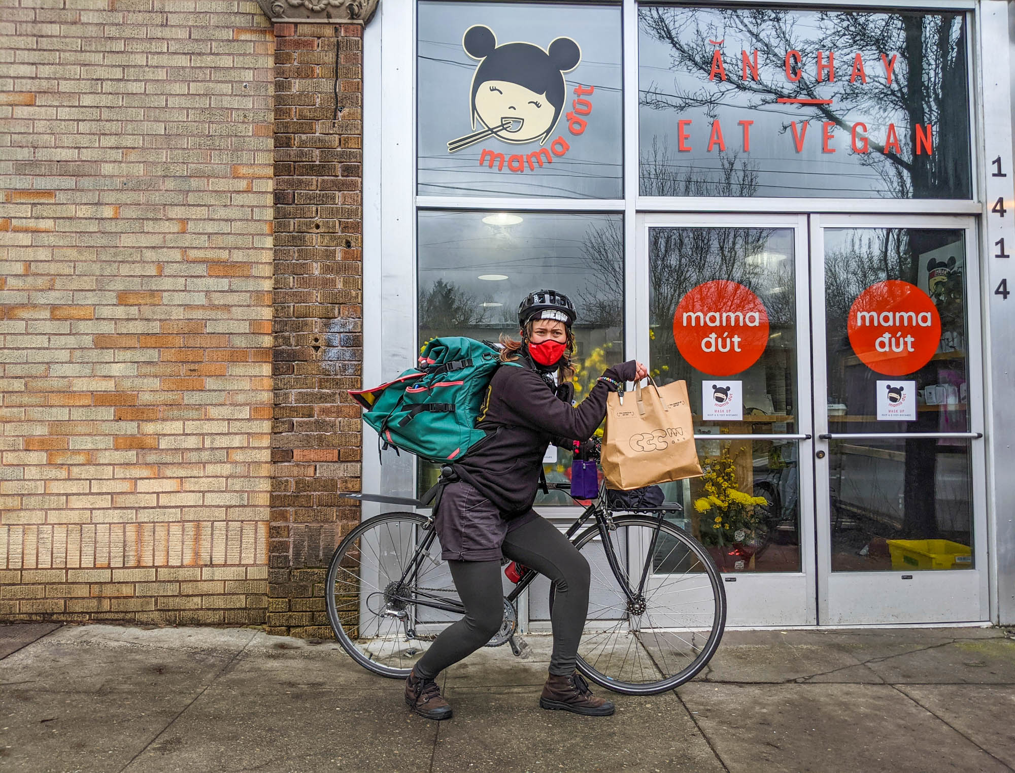 CCC PDX Bike Courier