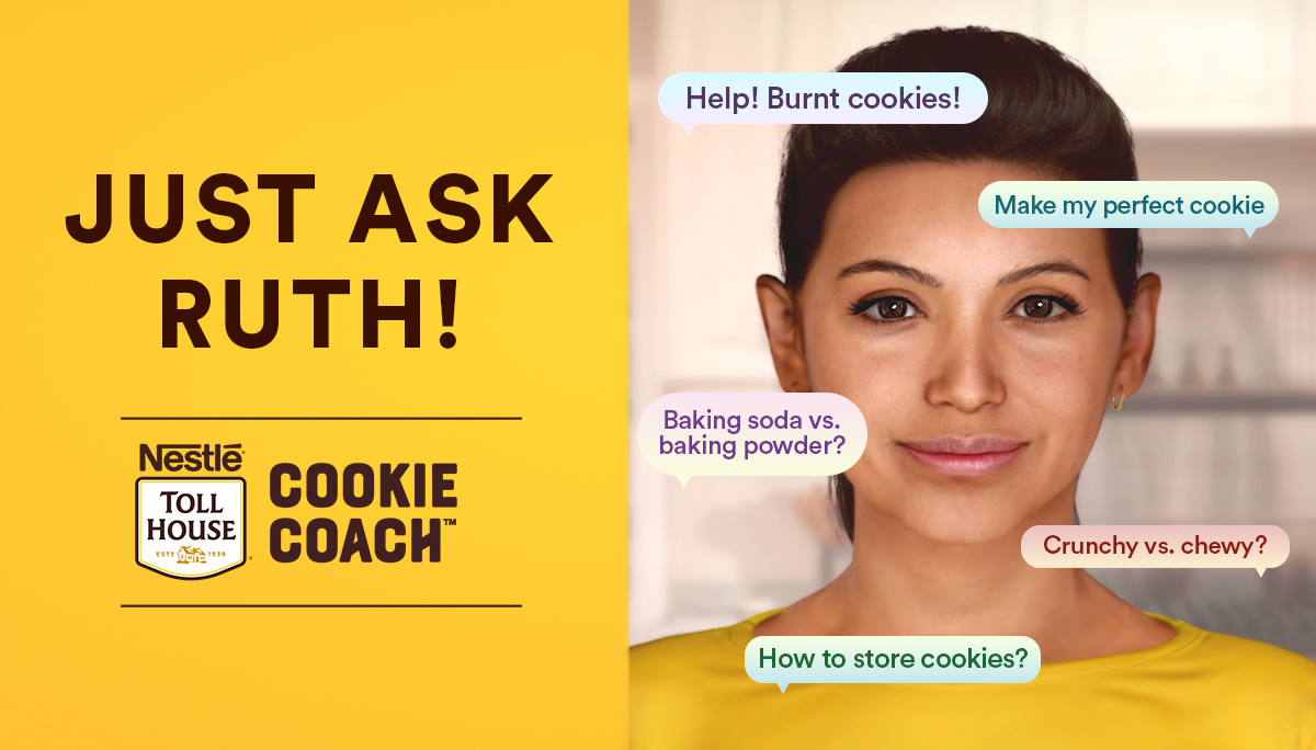 Nestle Toll House Cookie Coach Ruth