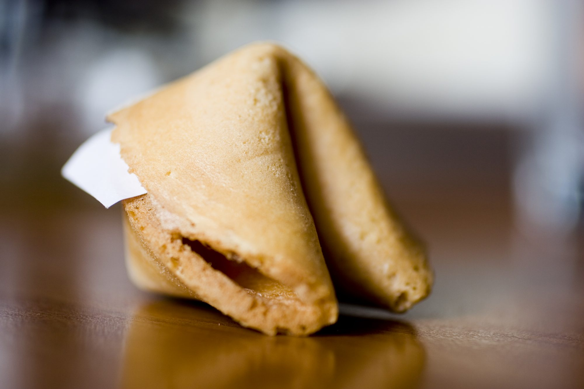 Asian Food: Fortune Cookie