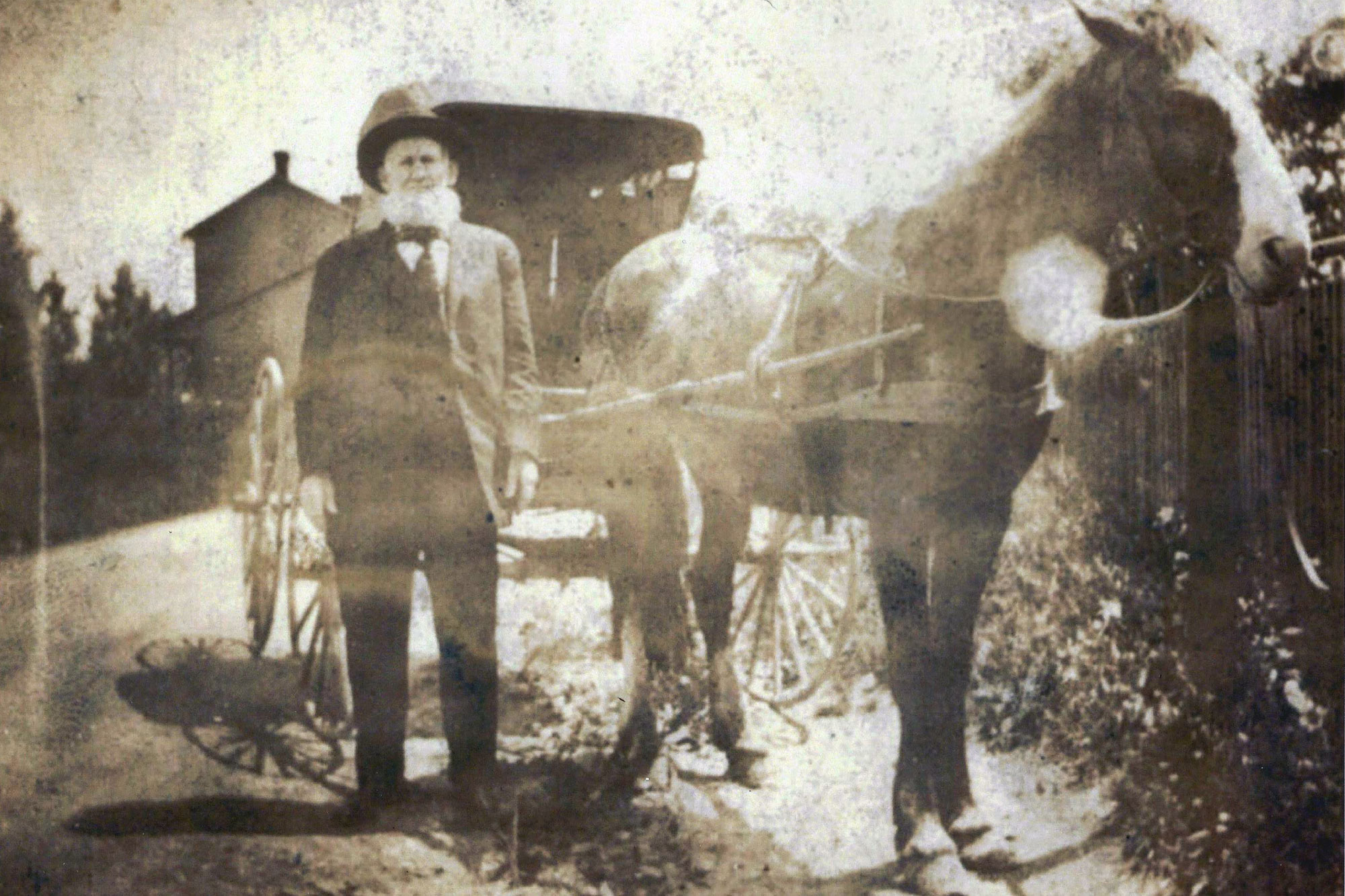 Welshman and horse