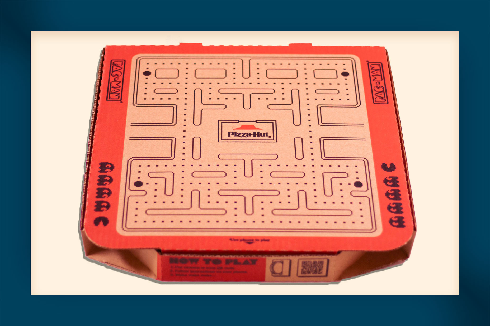 Pizza Hut Pac Man Box