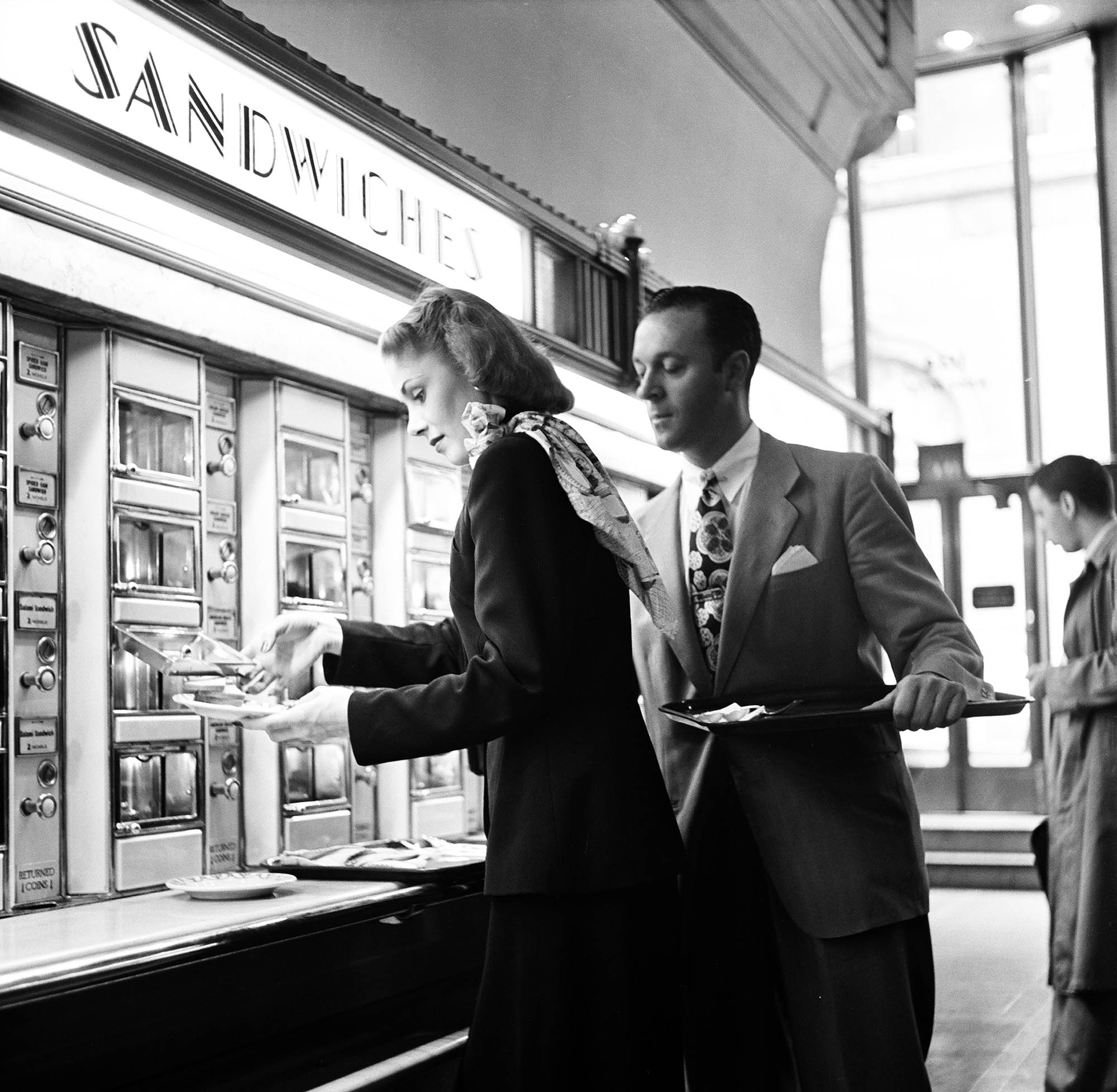 At The Grand Central Station Automat