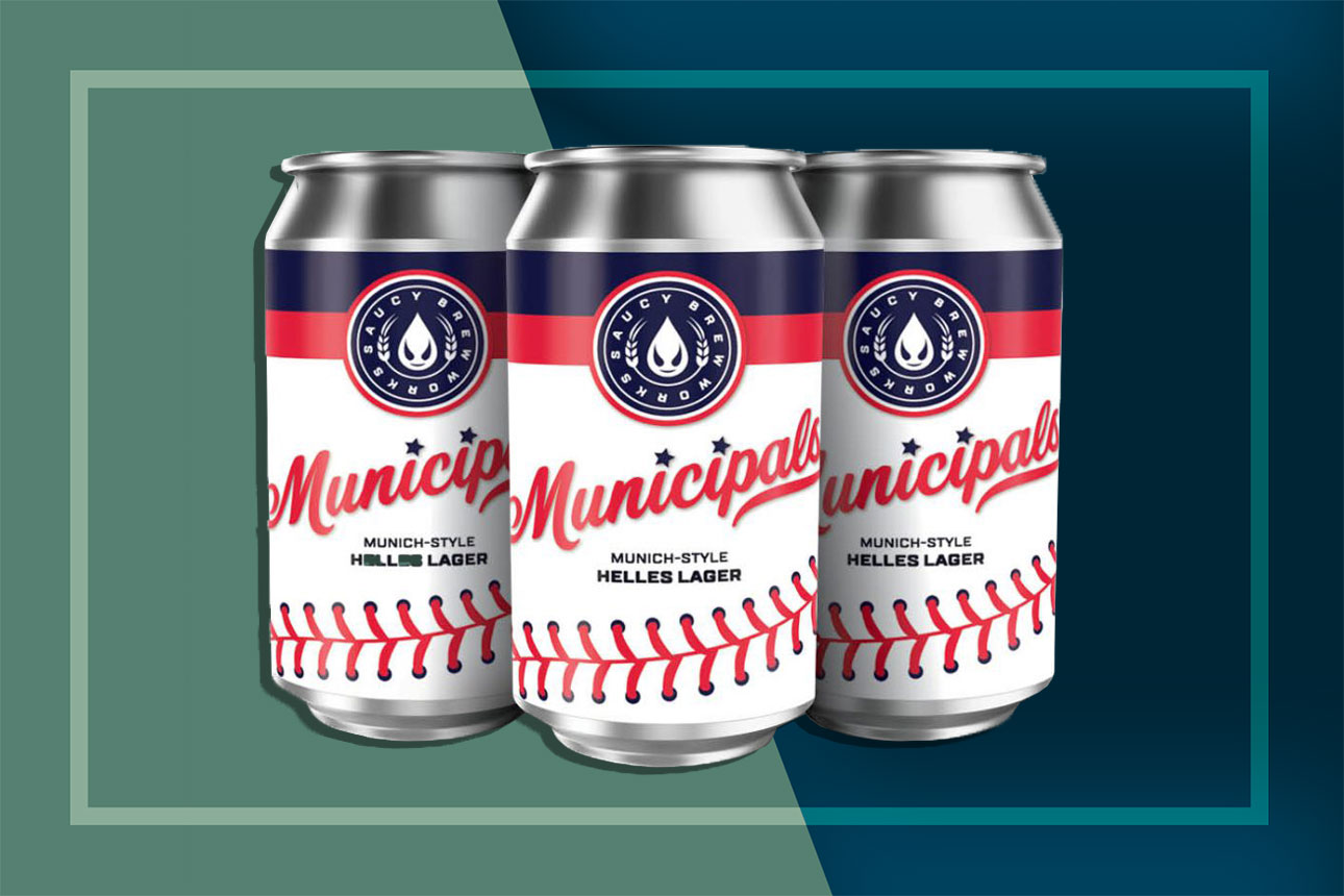 Cans of Municipals Beer