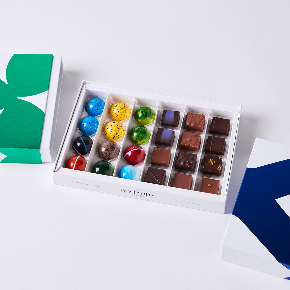 andSons chocolate gift box
