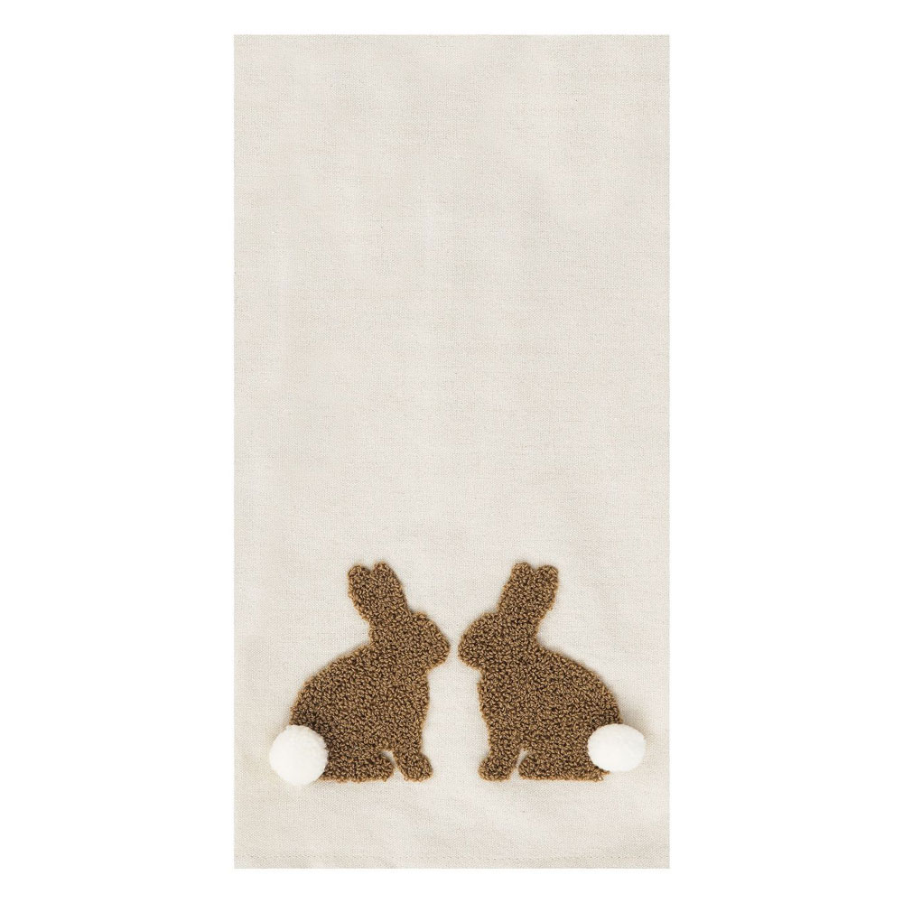 bunny kitchen towel easter