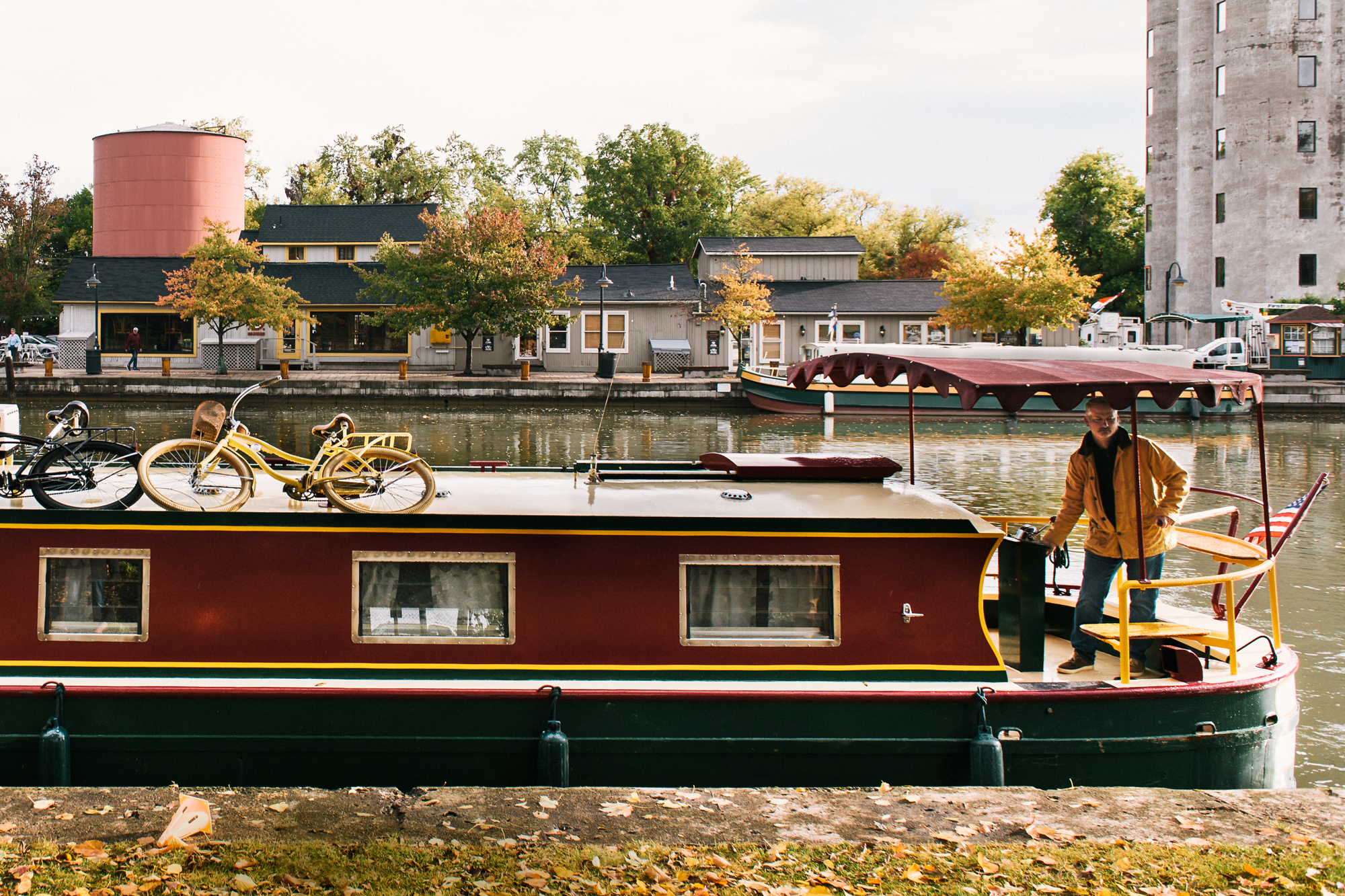 Erie Canal Wine Barge