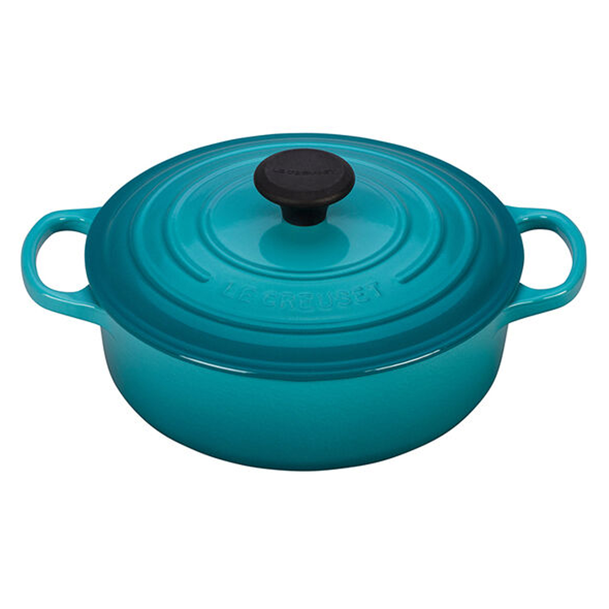 Le Creuset round wide oven