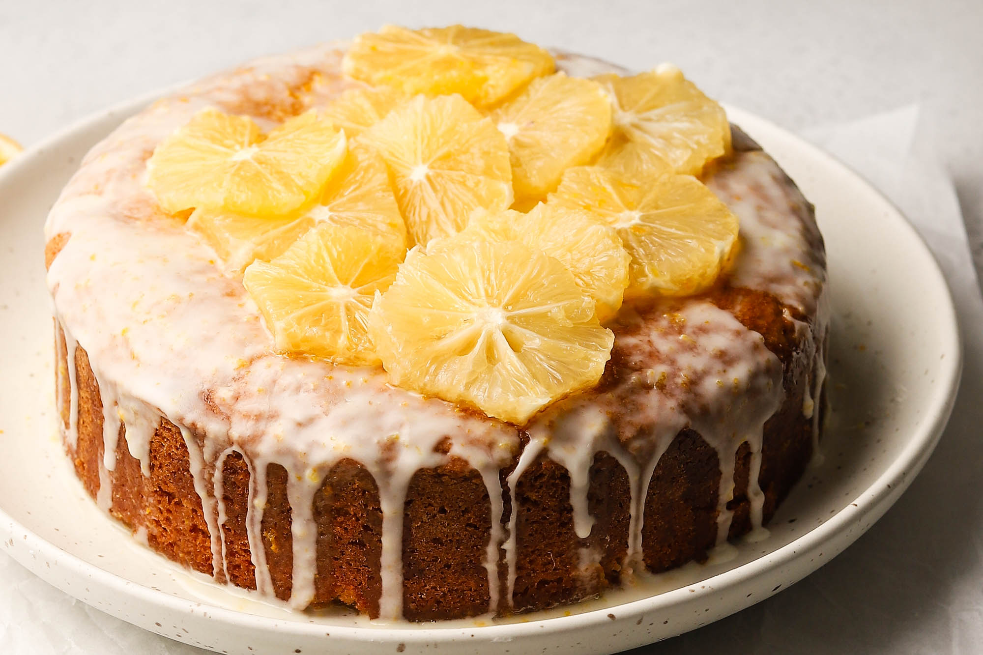 Cannabis-Infused Olive Oil Citrus Cake