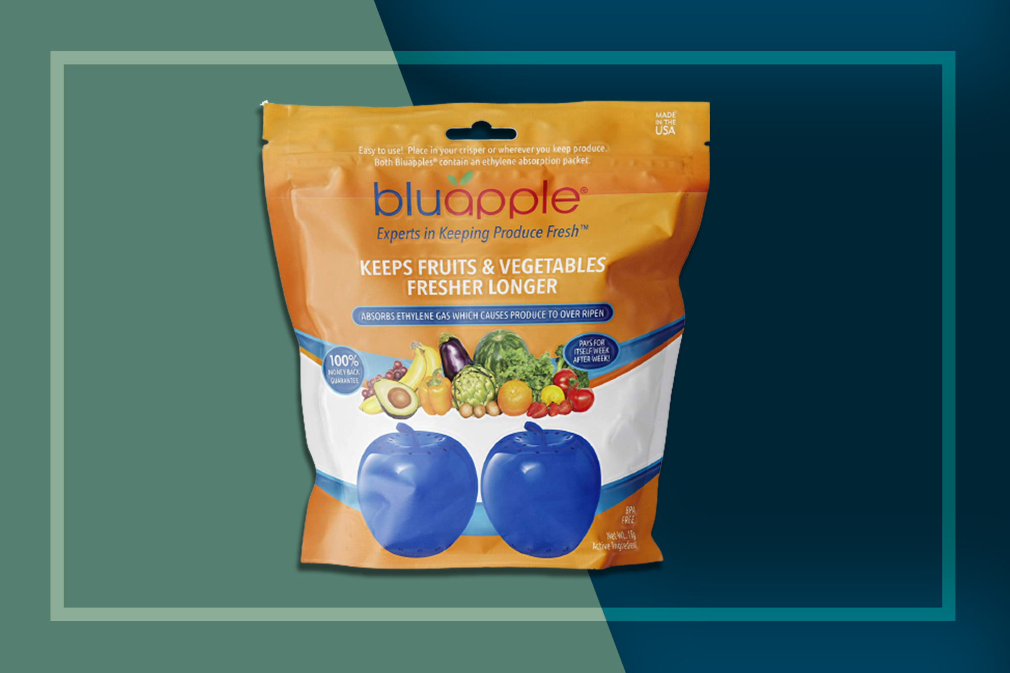 blu apple produce saver