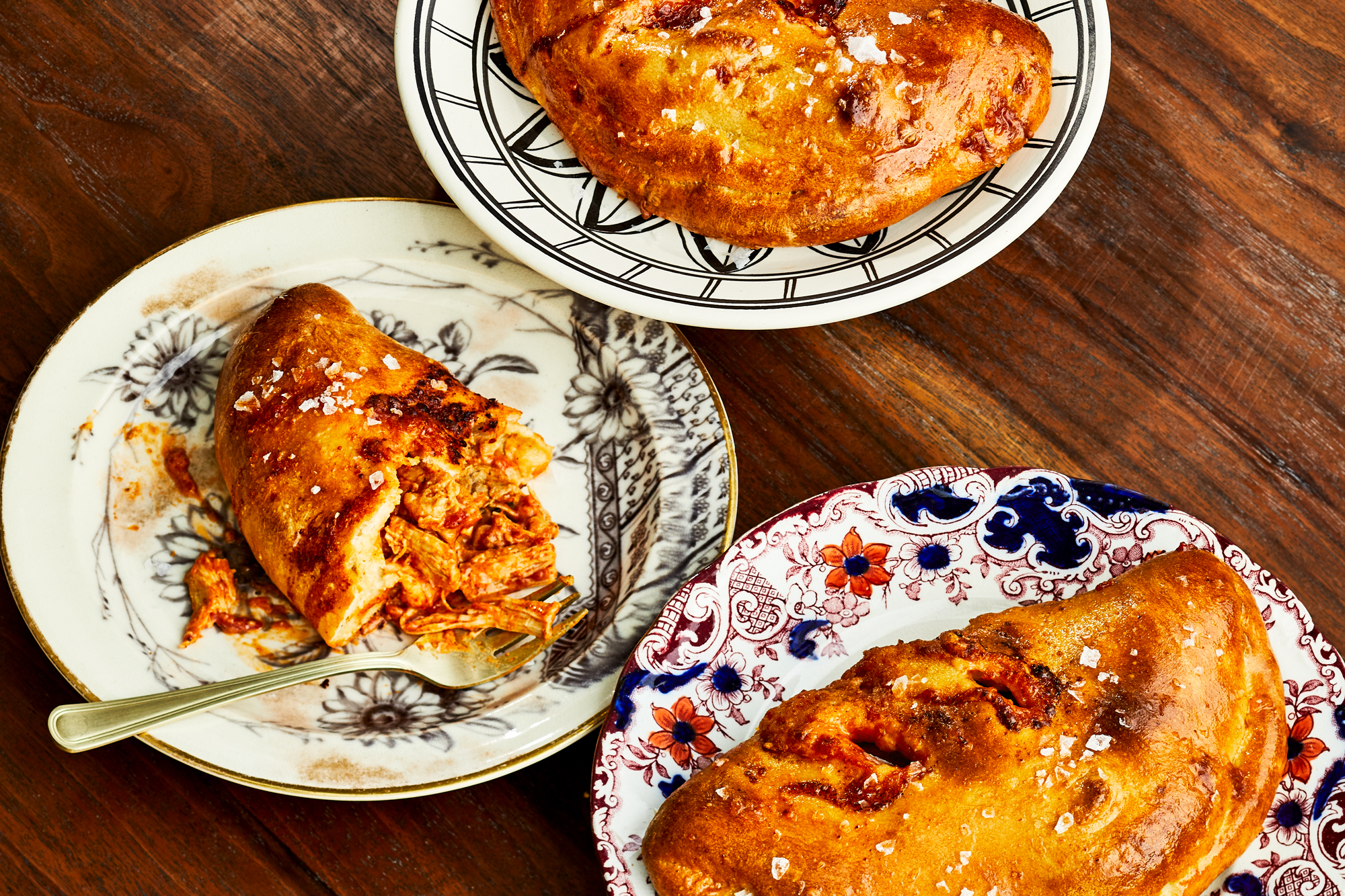 Butter Chicken Calzone