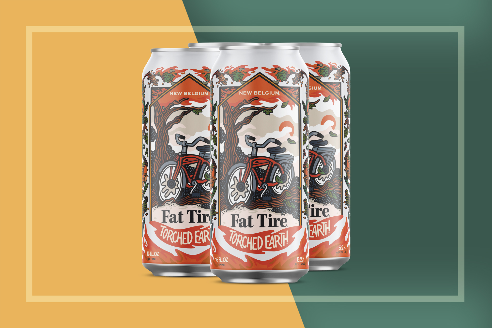 New Belgium Flat Tired Torched Earth Cans