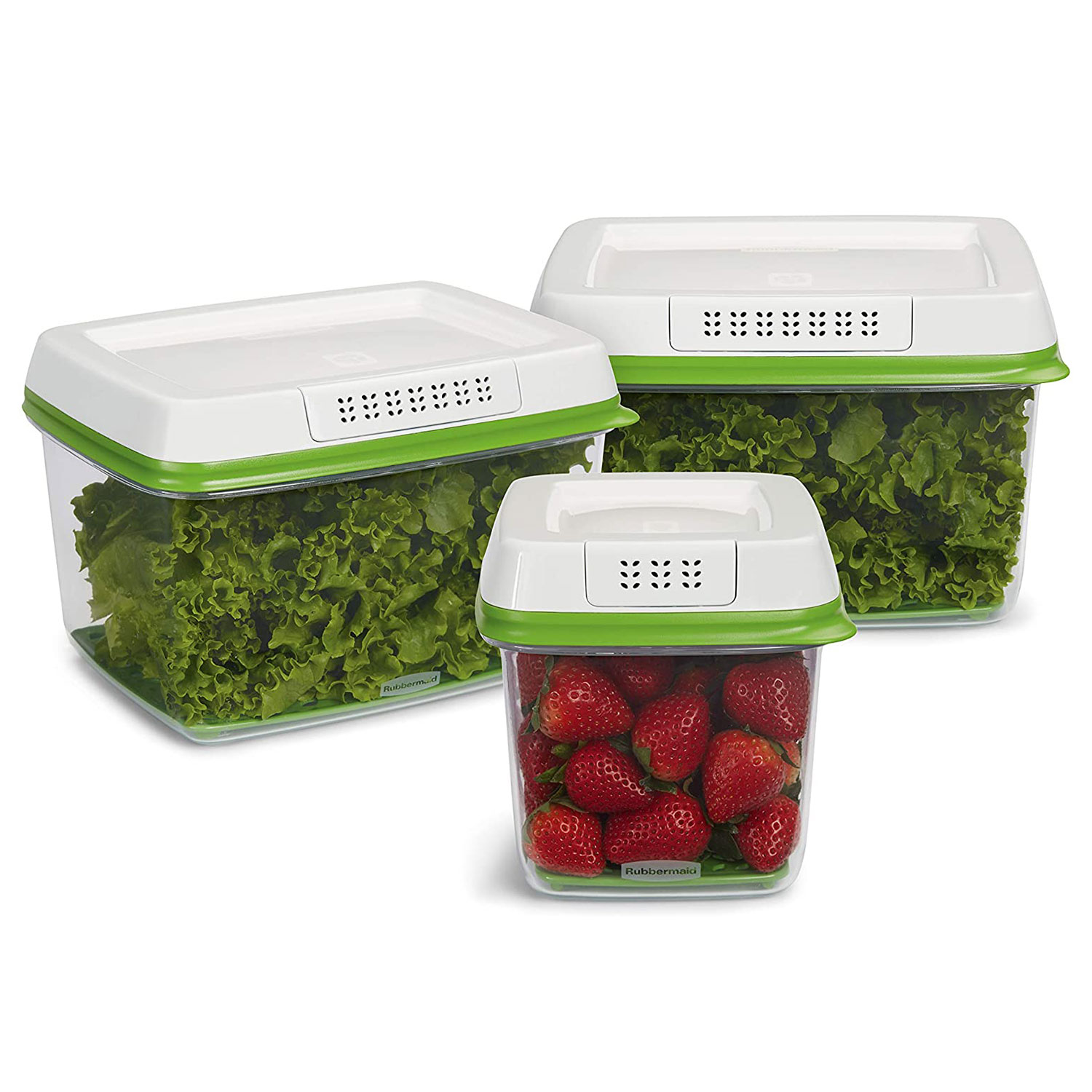 Rubbermaid - FreshWorks Produce Saver Food Storage Container