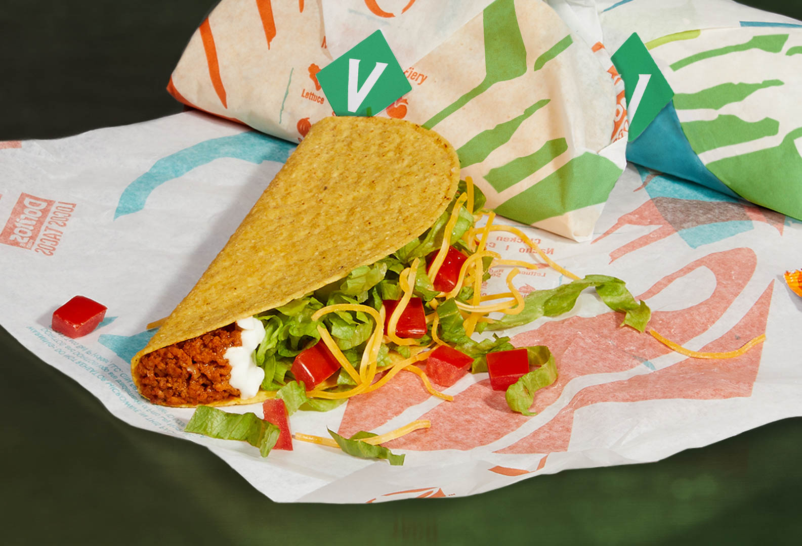 Taco Bell plant-based taco