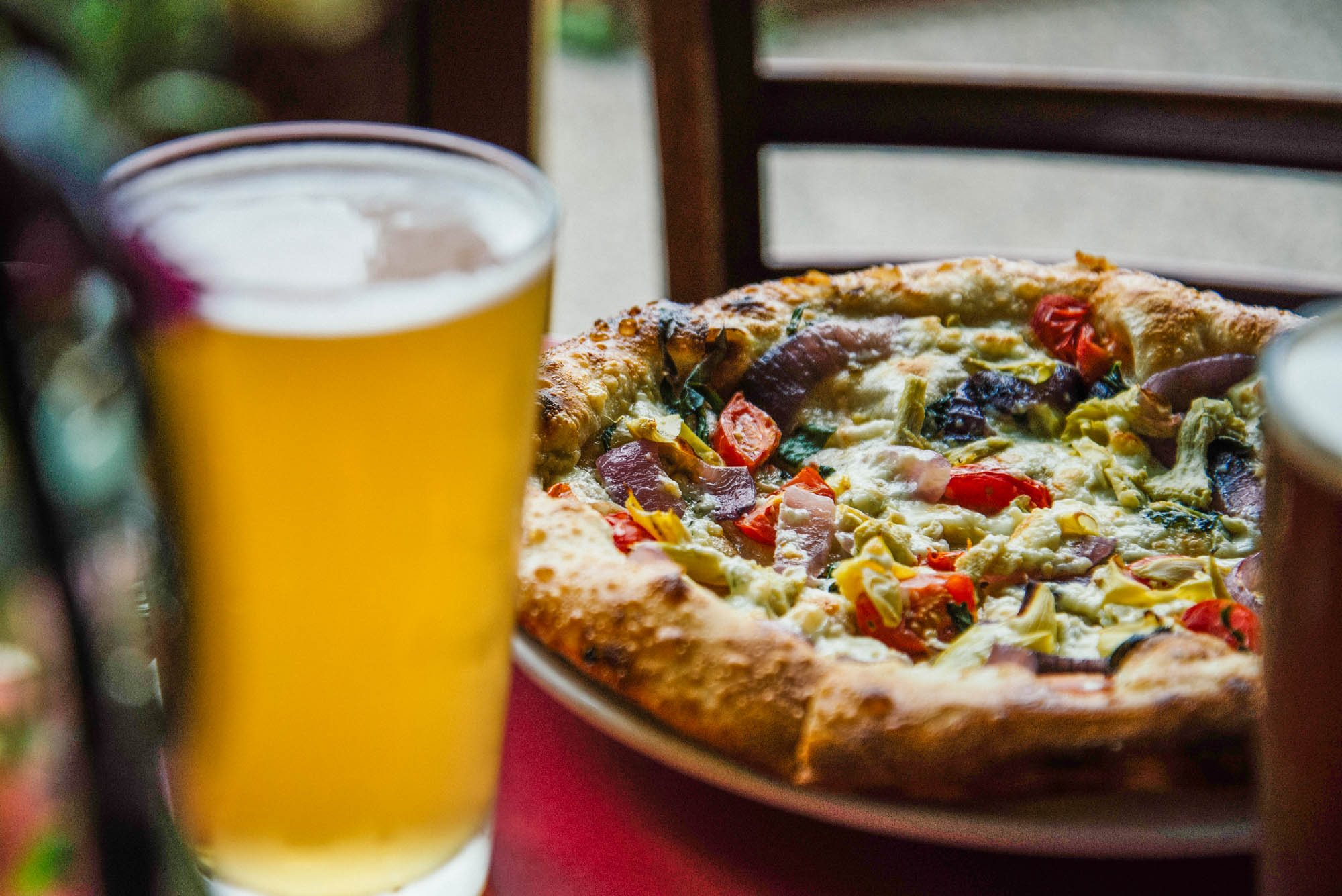 Motor City Brewing Works Pizza