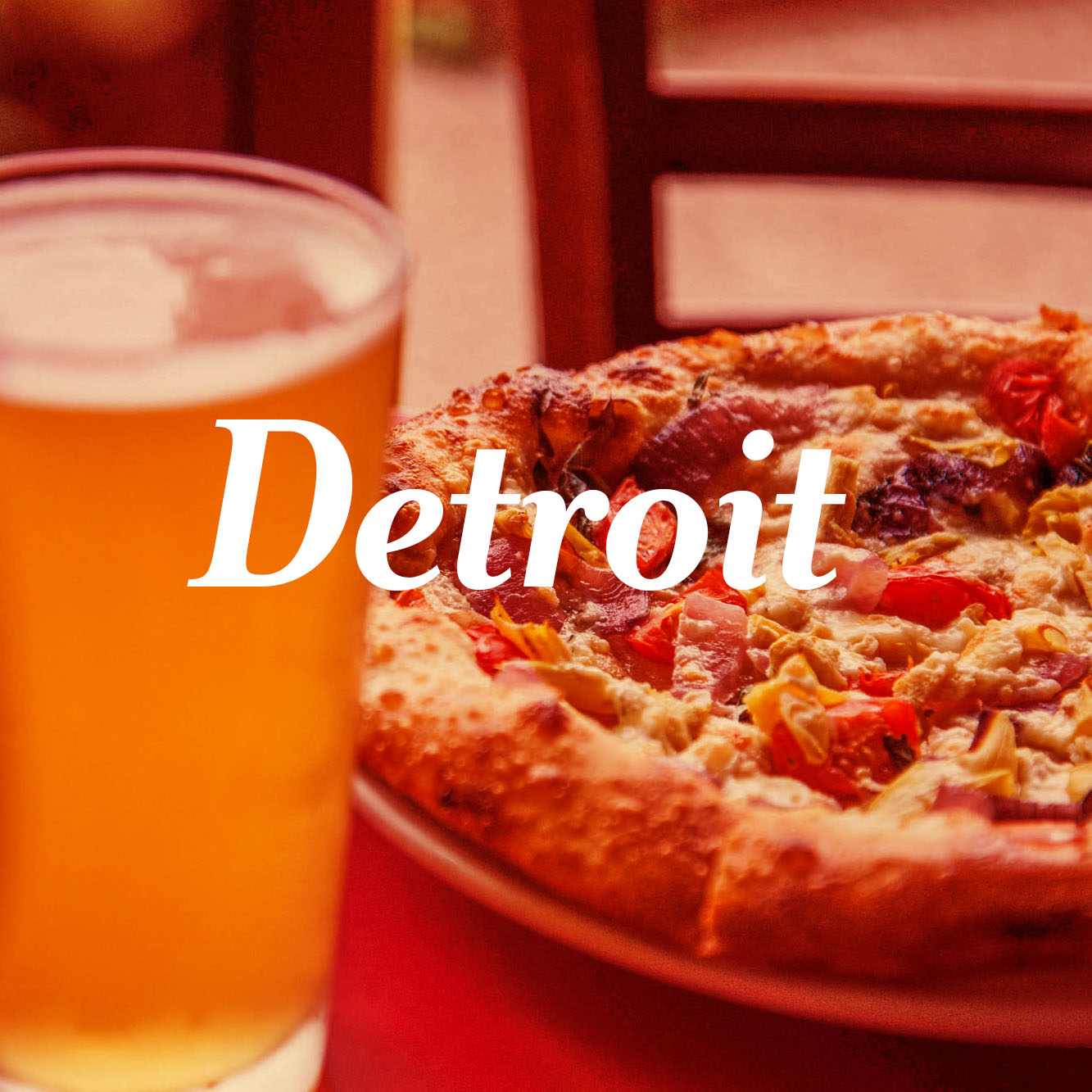 Motor City Brewing Pizza