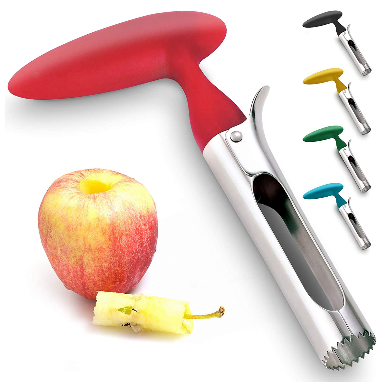 Premium Apple Corer - Easy to Use Durable Apple Corer Remover for Pear