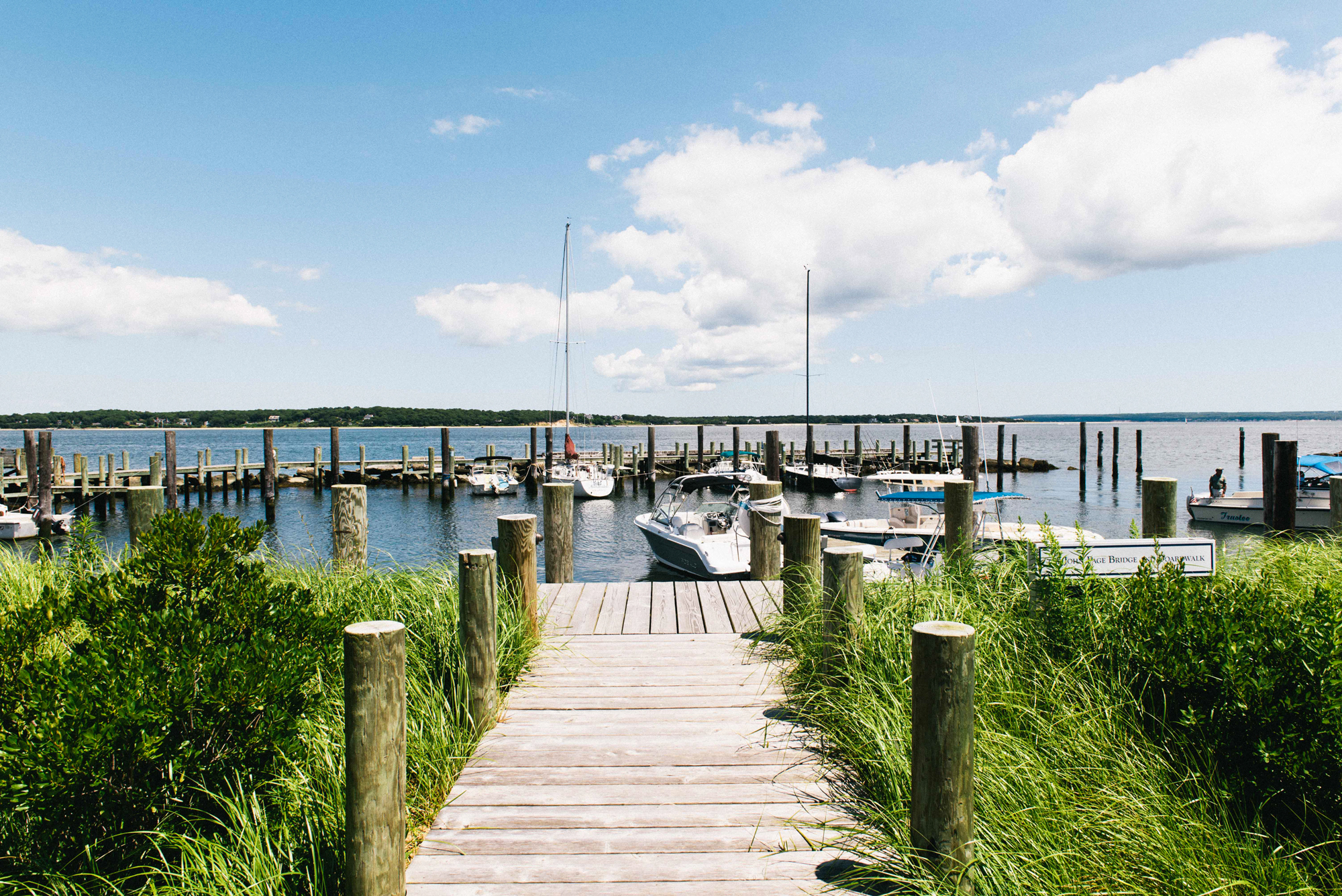 Boats on the Water in Long Island