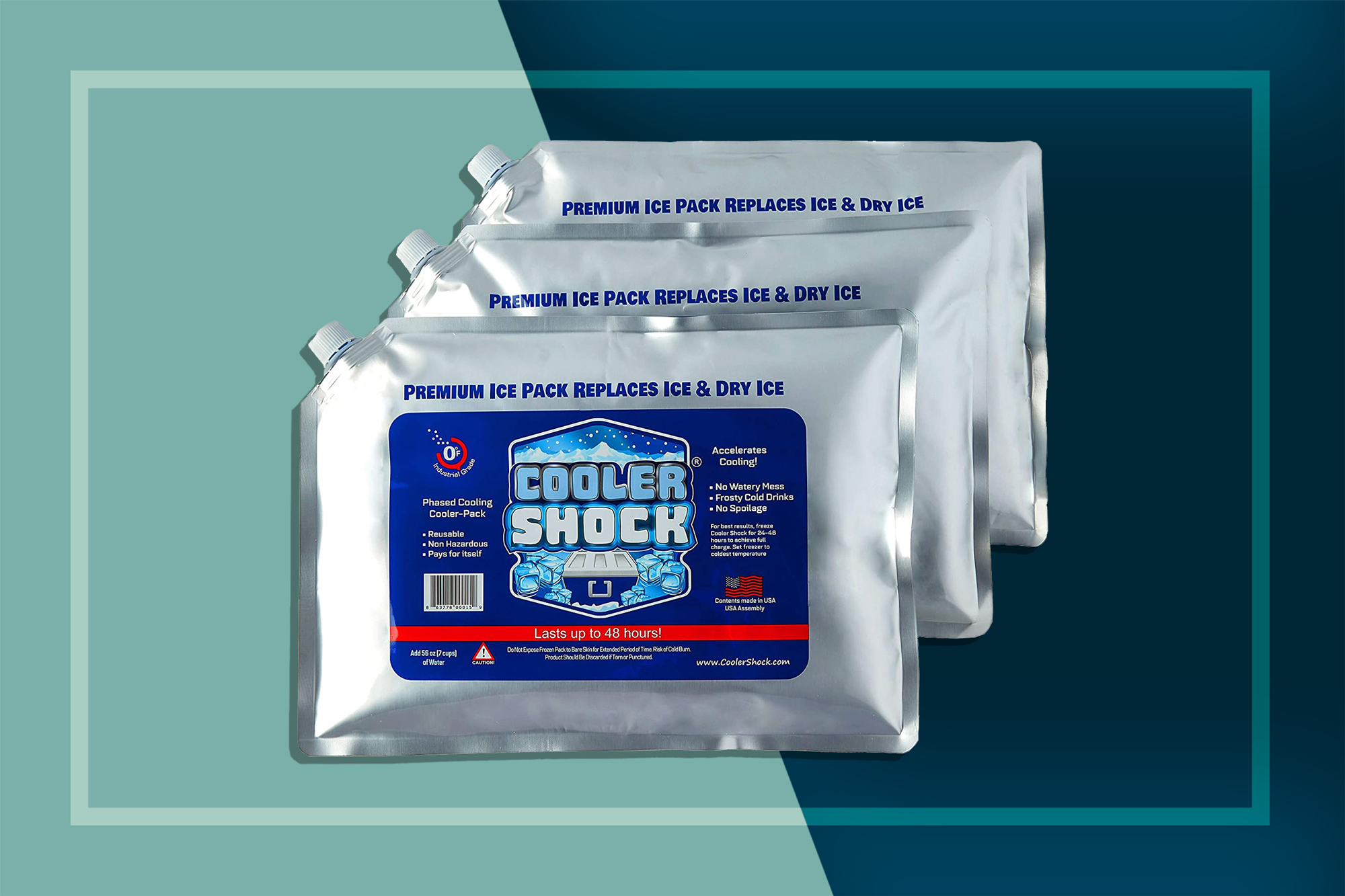 Cooler Shock Ice Packs