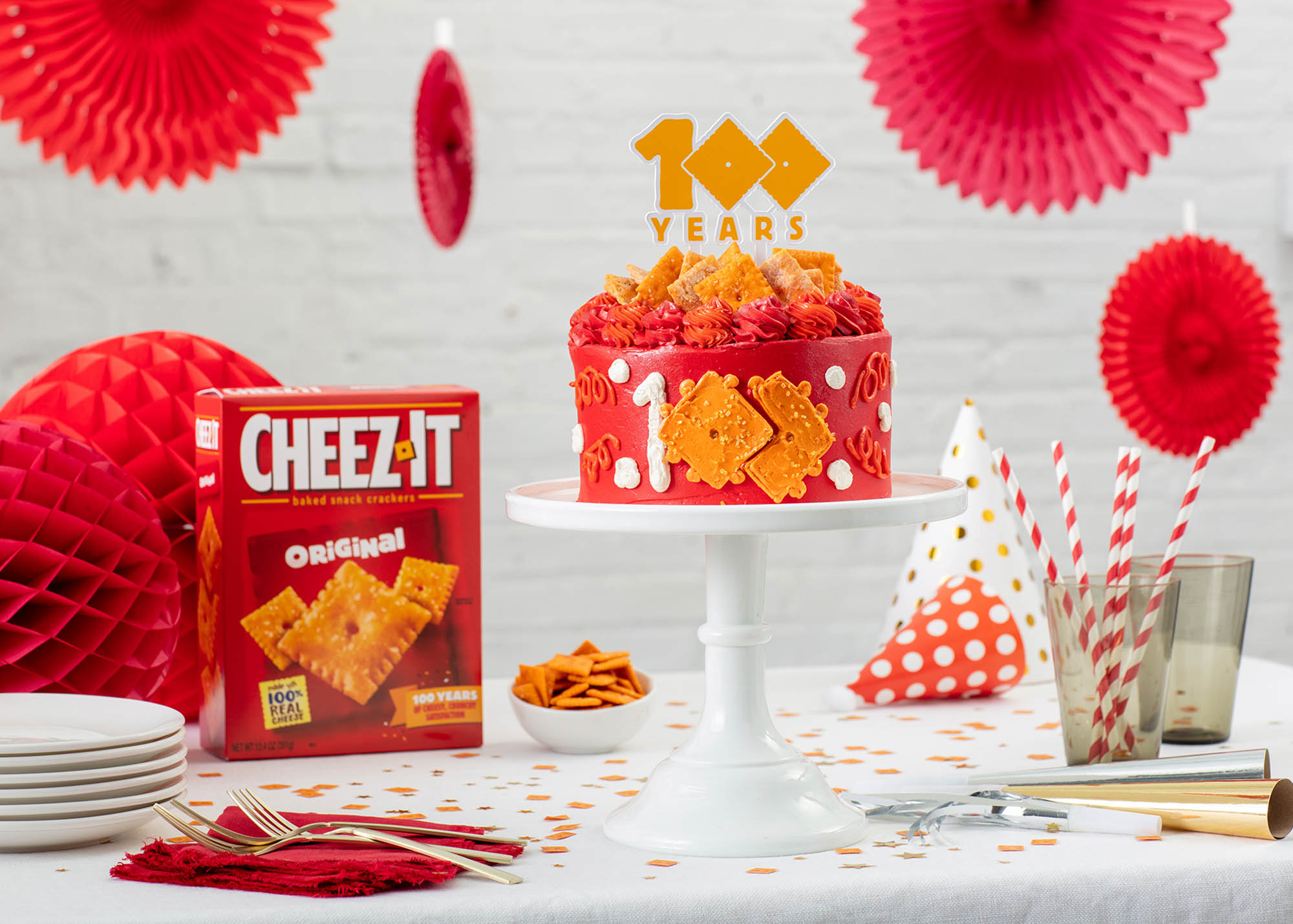 Cheez-It Cake on Goldbelly with Stephanie Izard