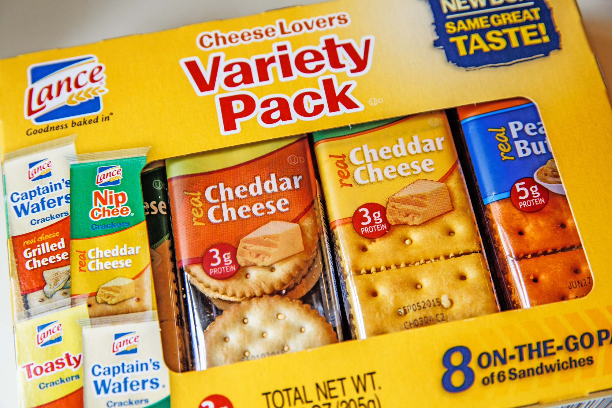 Lance crackers variety pack