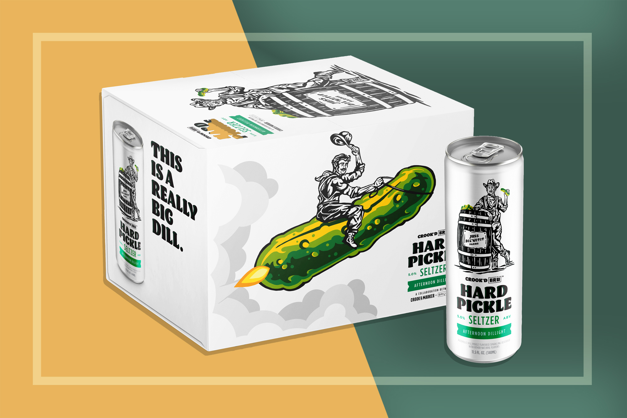 Hard Pickle Seltzer 12-pack
