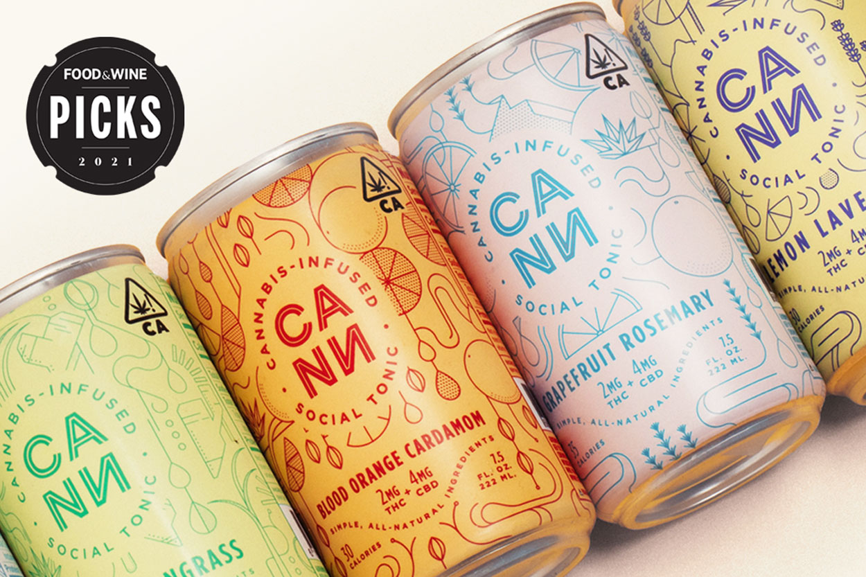 cans of cannabis-infused seltzer