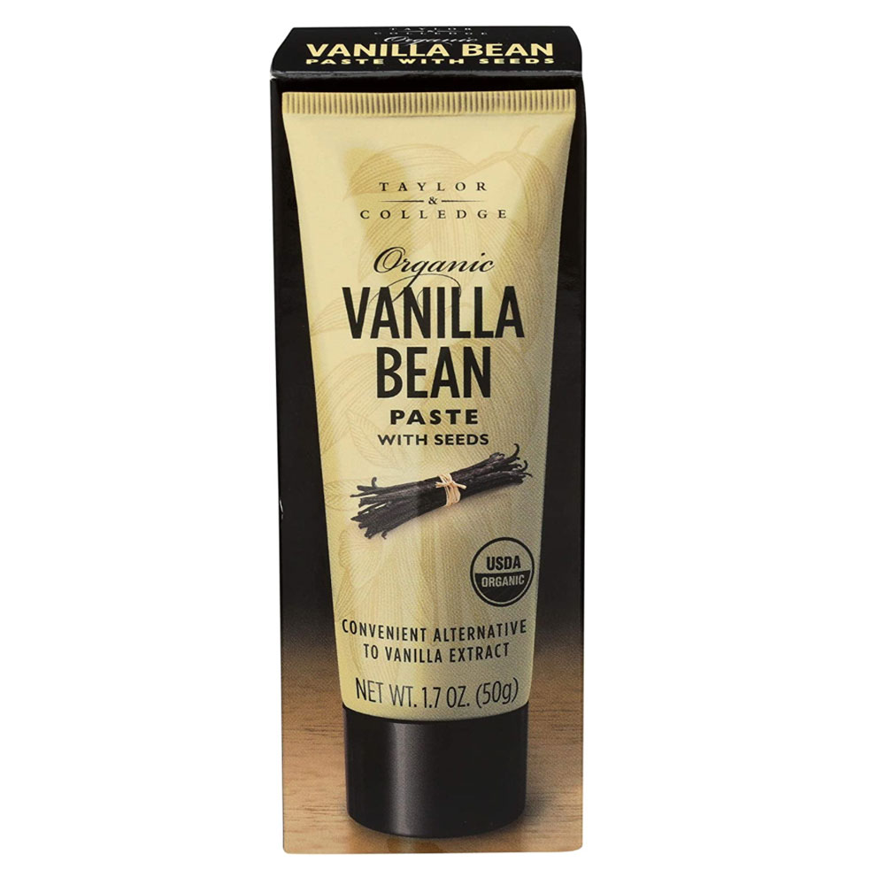 Taylor & Colledge Organic Vanilla Bean Paste with Seeds