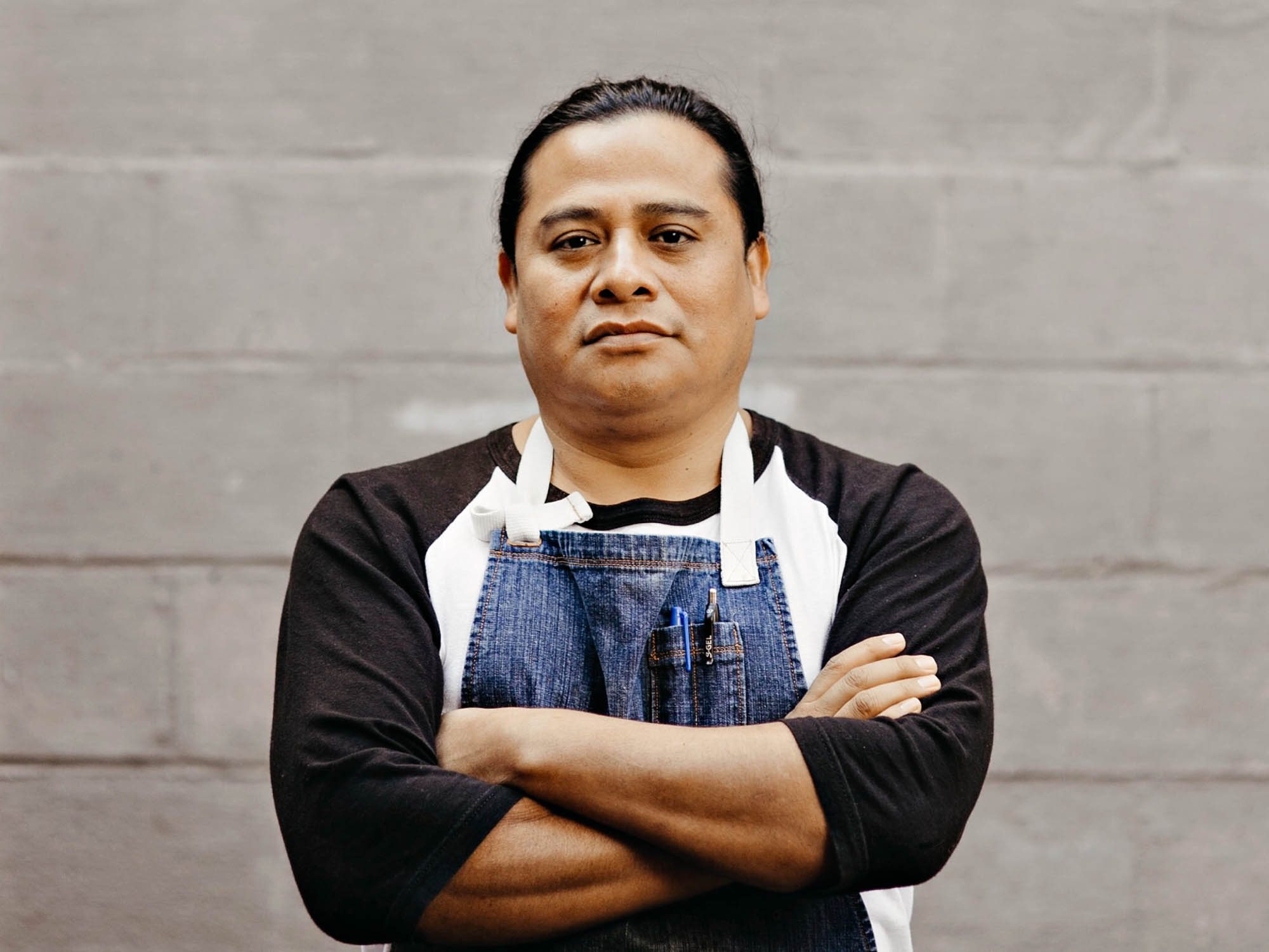 portrait of Neftalí Durán: chef, educator, and cofounder of I-Collective