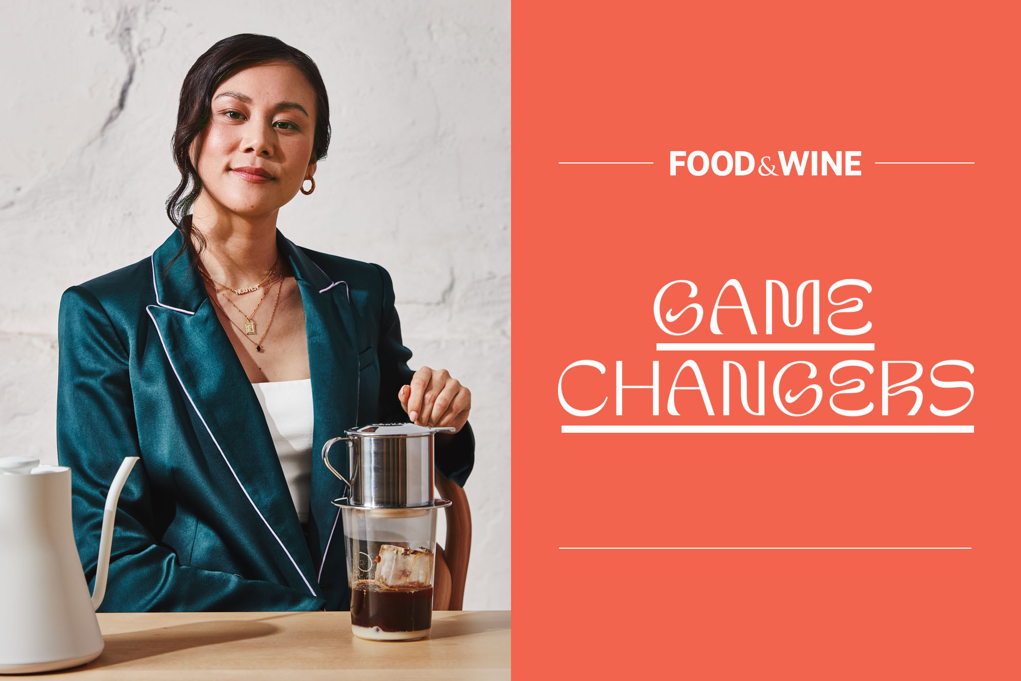 Sahra Nguyen and the Food & Wine Game Changers Logo