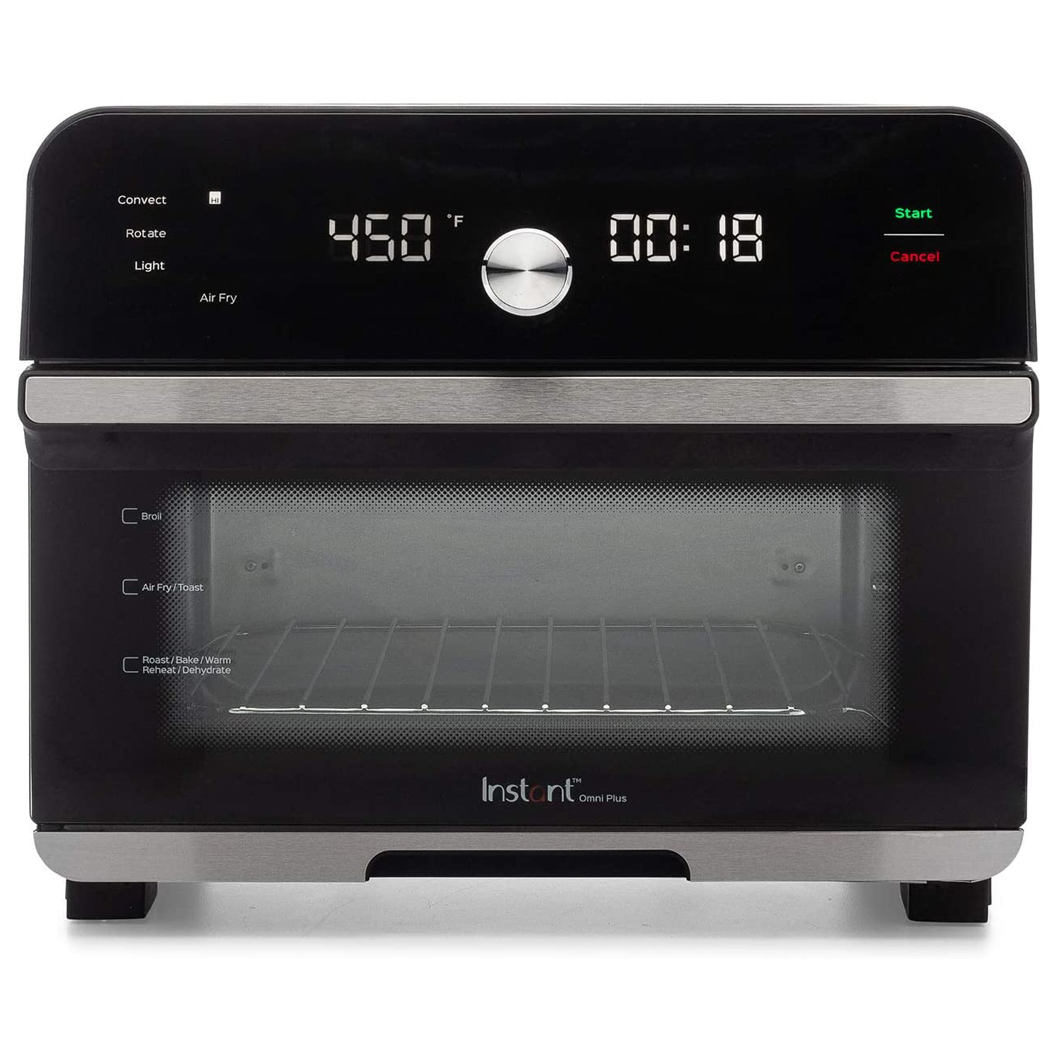 Instant Omni Plus 10-in-1 Air Fryer Toaster Oven Combo, Rotisserie Oven,