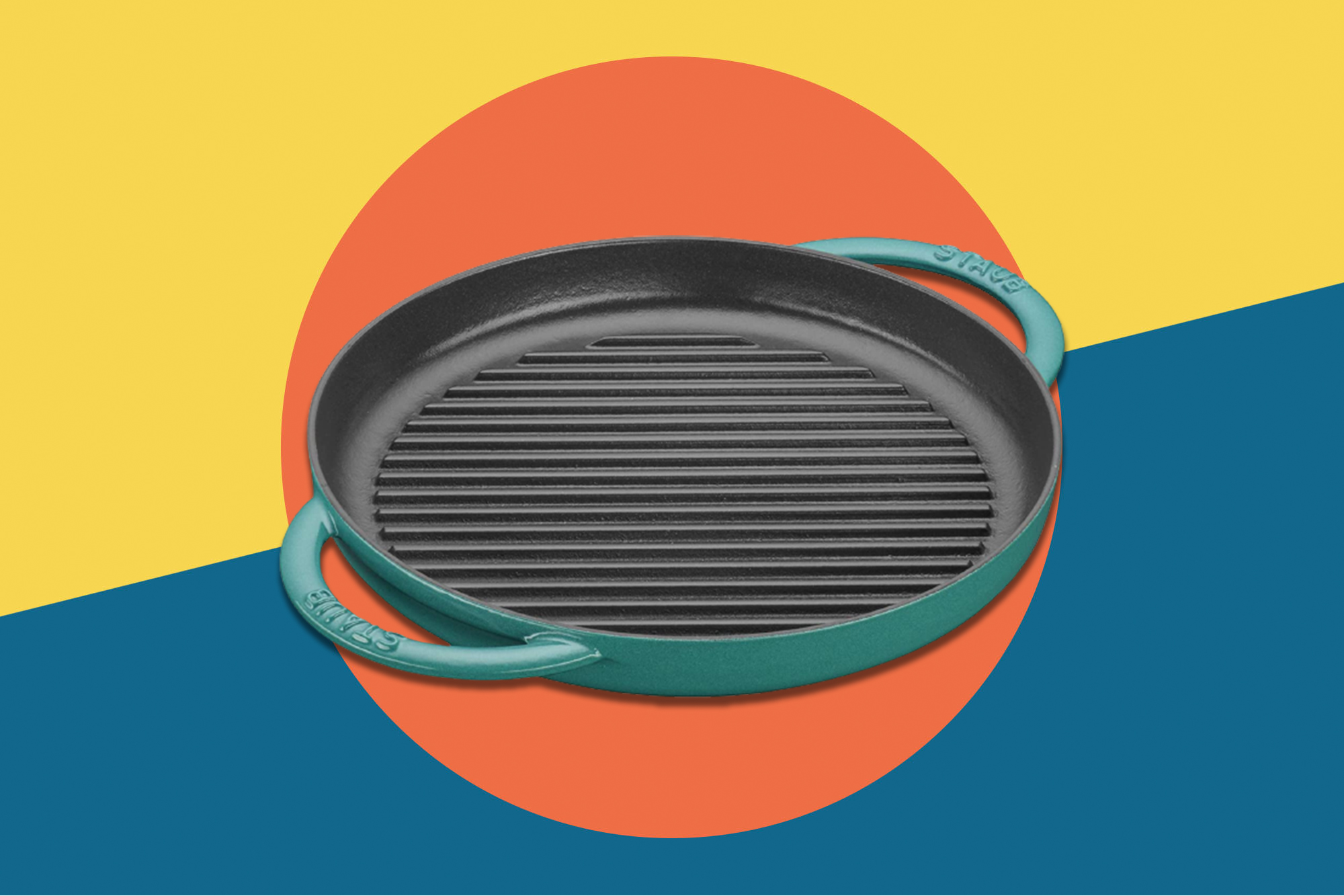 staub grill deal prime day