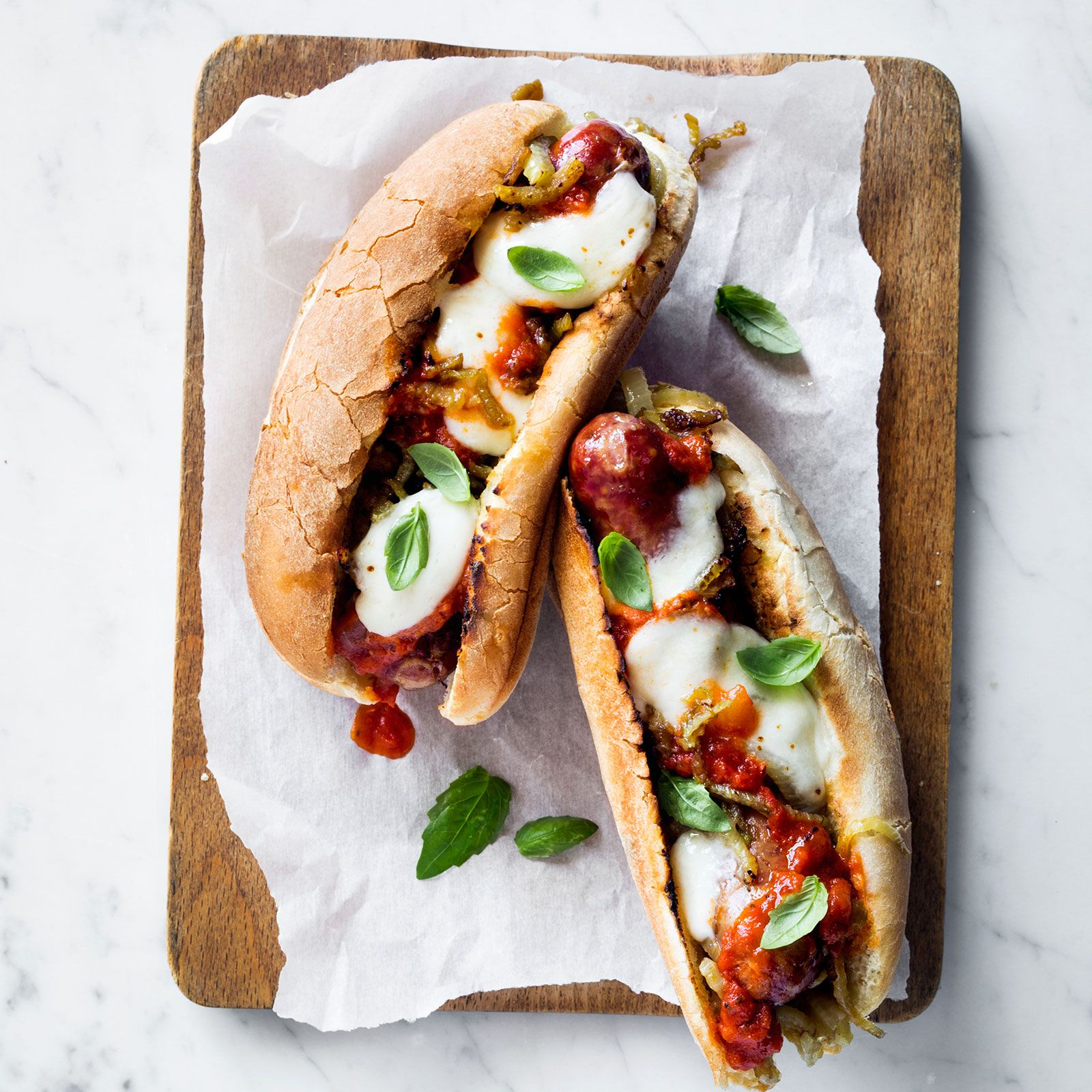 Sausage-and-Fennel-Parm-Heroes