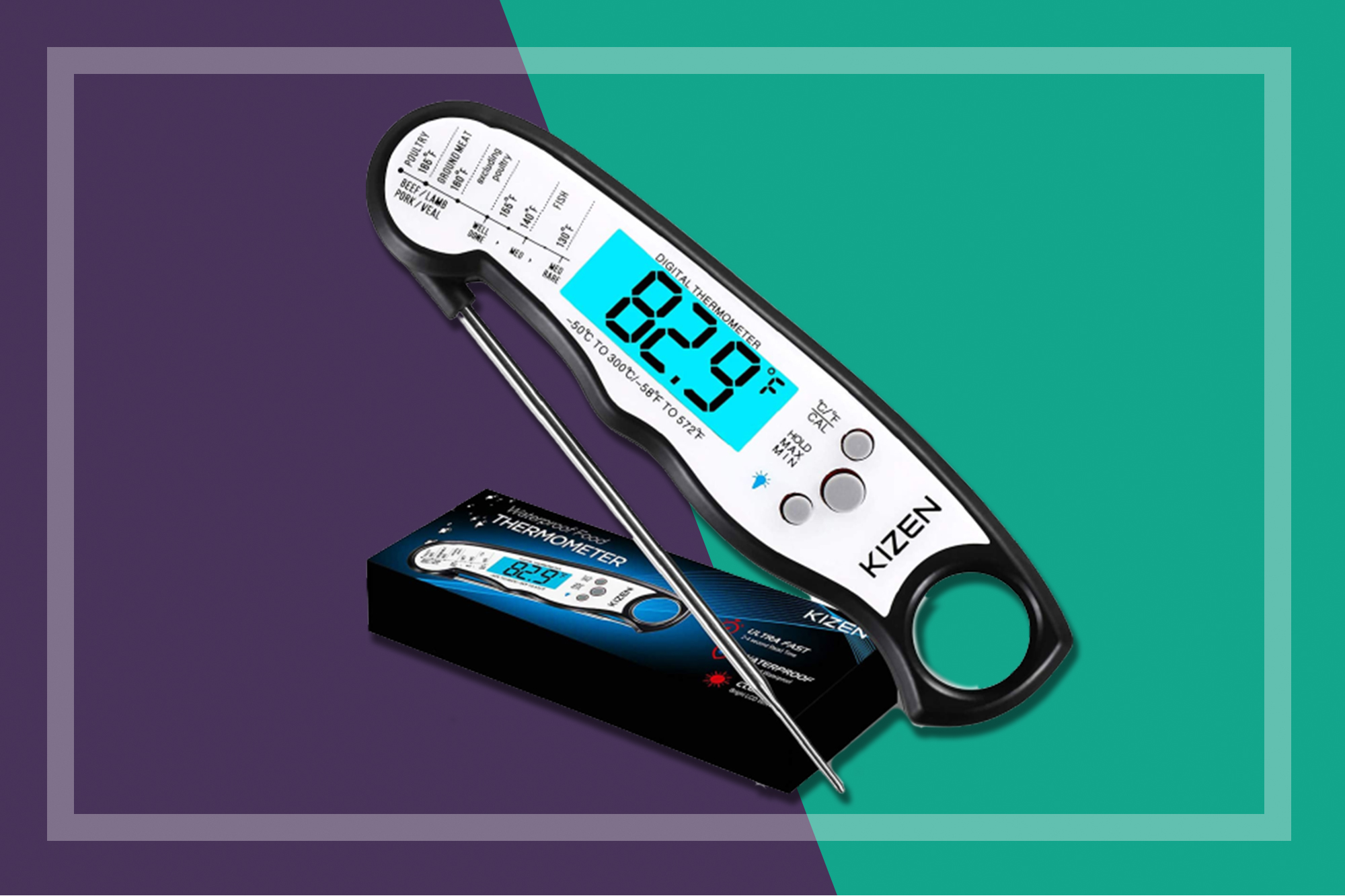 kizen meat thermometer
