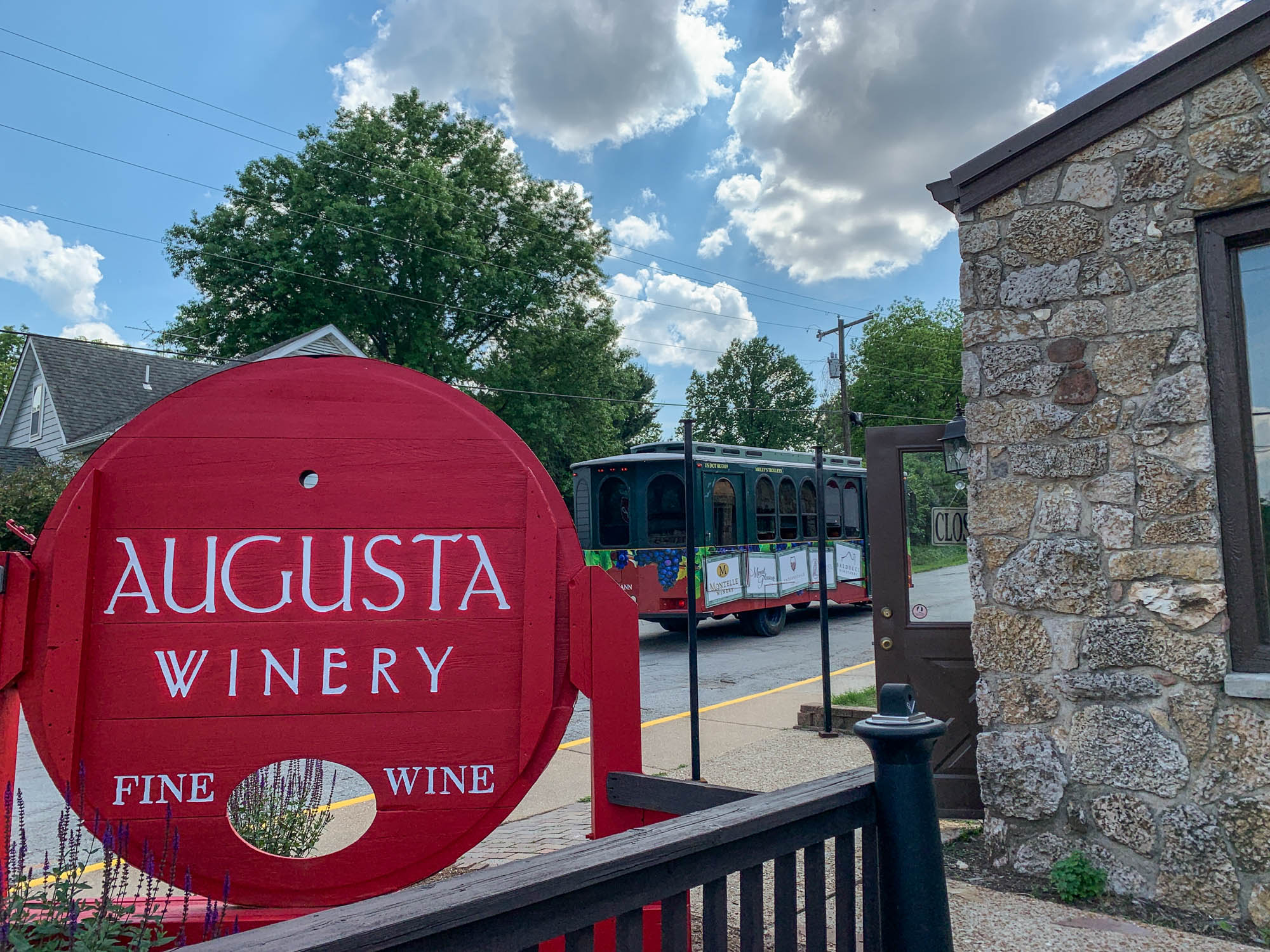 Augusta Winery Sign