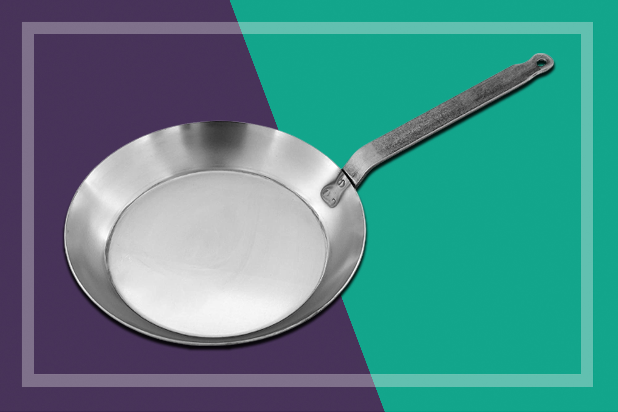 bourgeat carbon steel fry pan