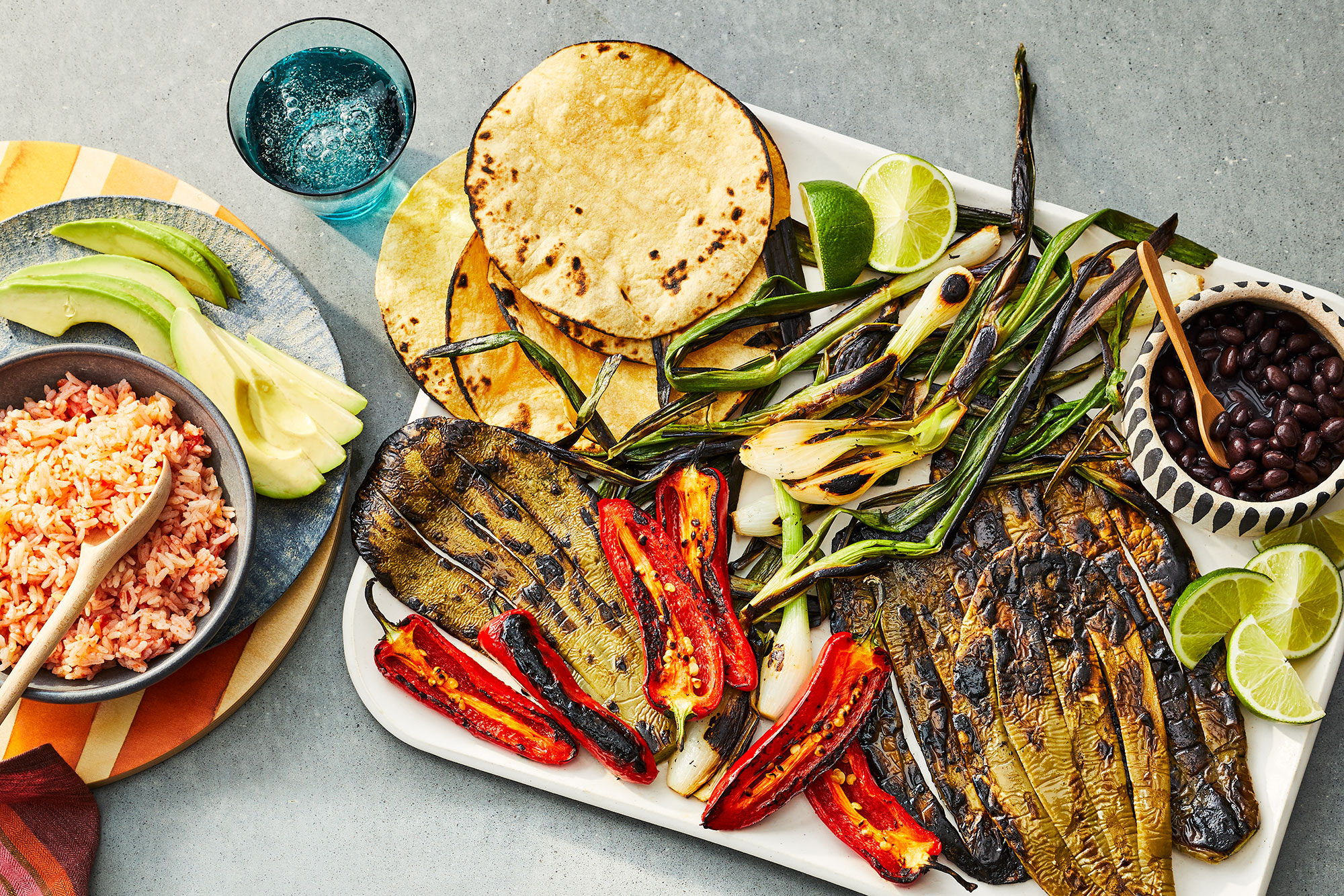 Charred Nopales With Jalapenos And Spring Onions