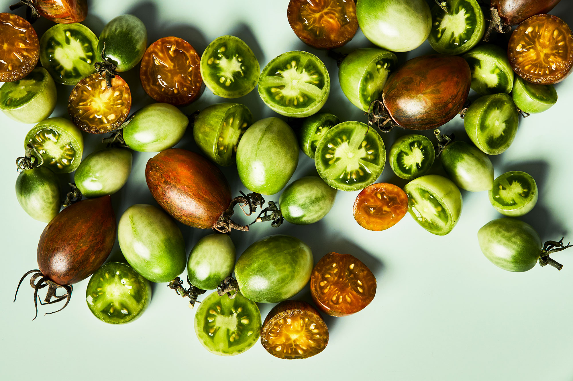 Sweet Jade Tomatoes and Atomic Tomatoes