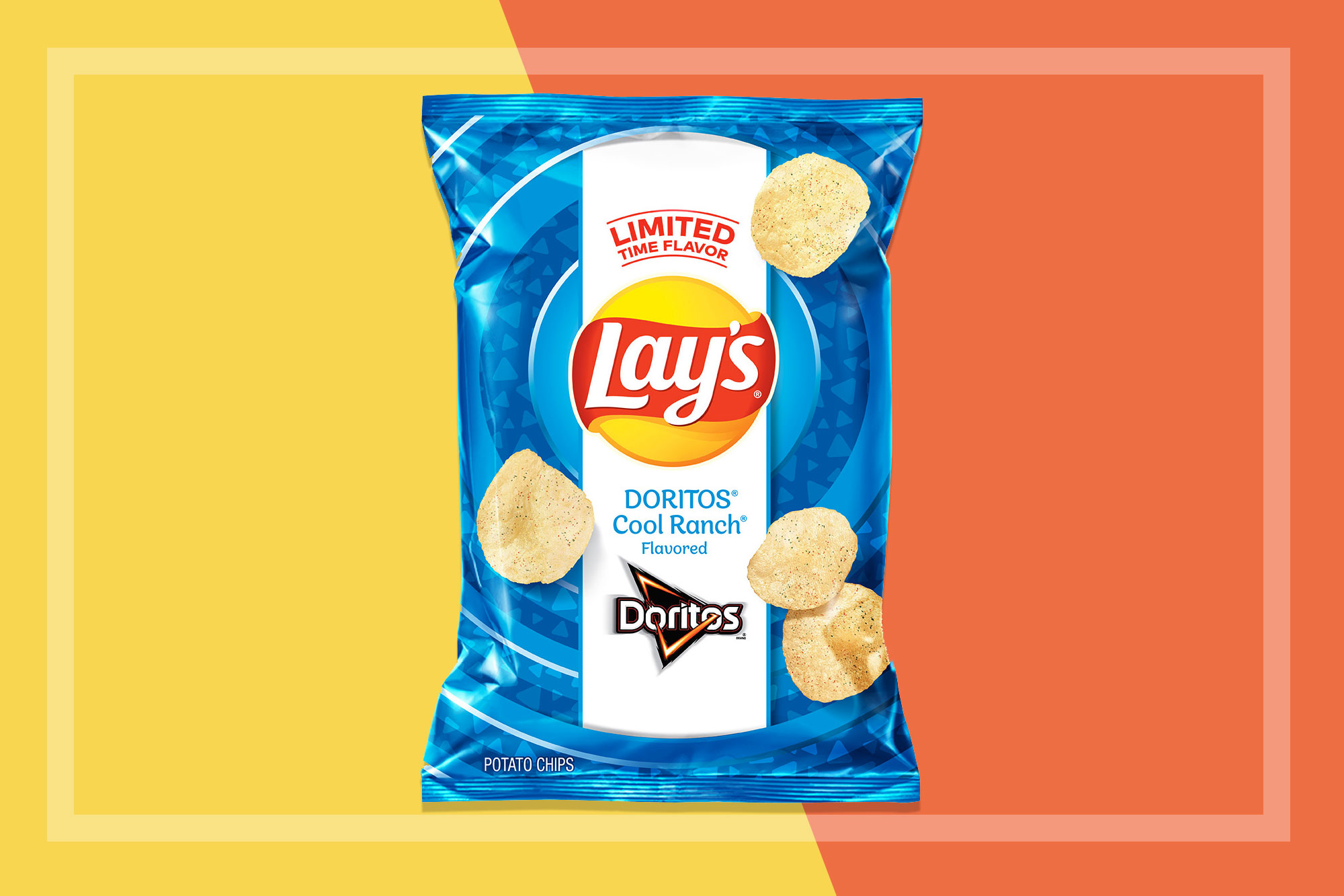 Lays Cool Ranch potato chips