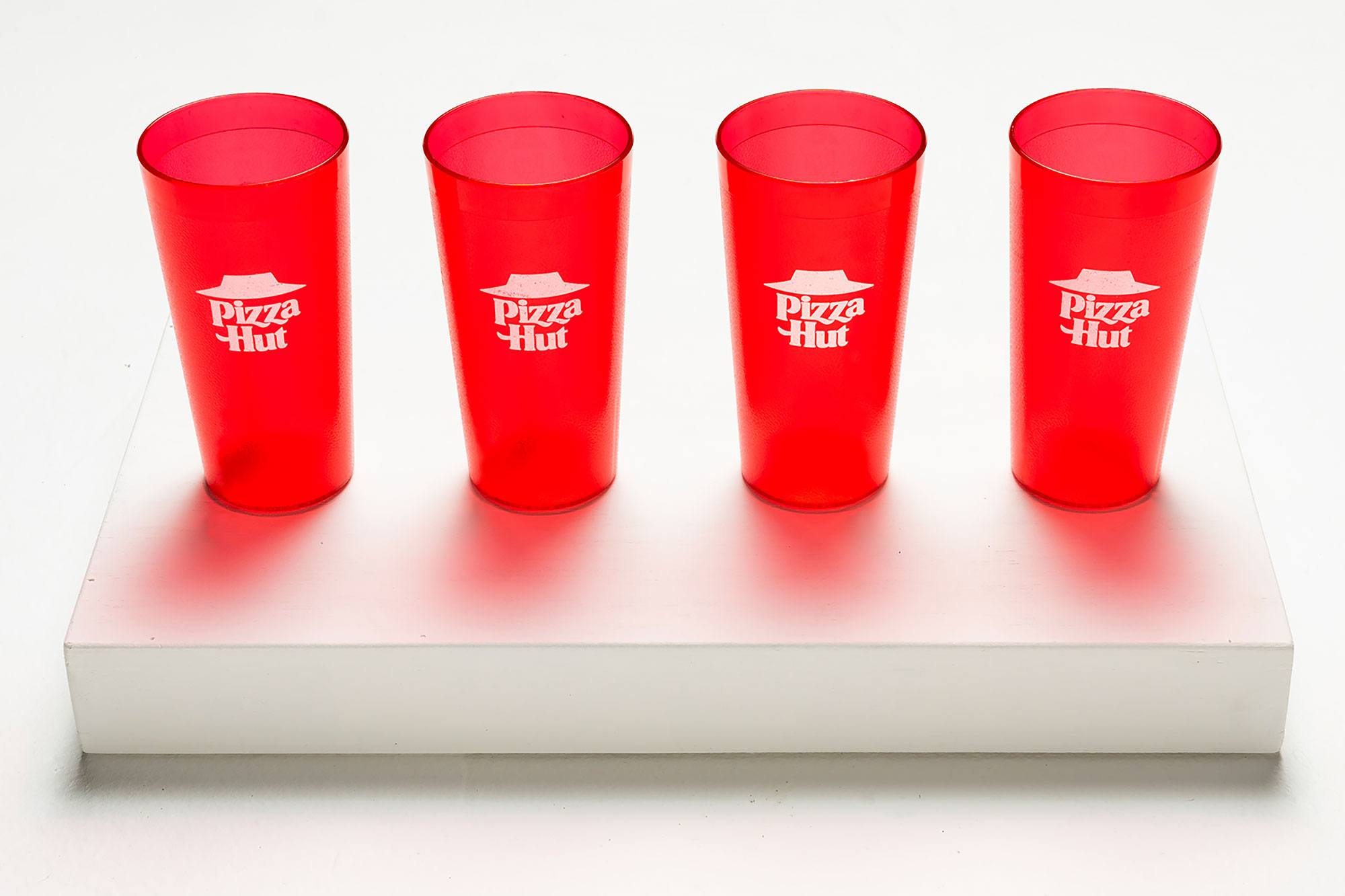 Pizza Hut red cups