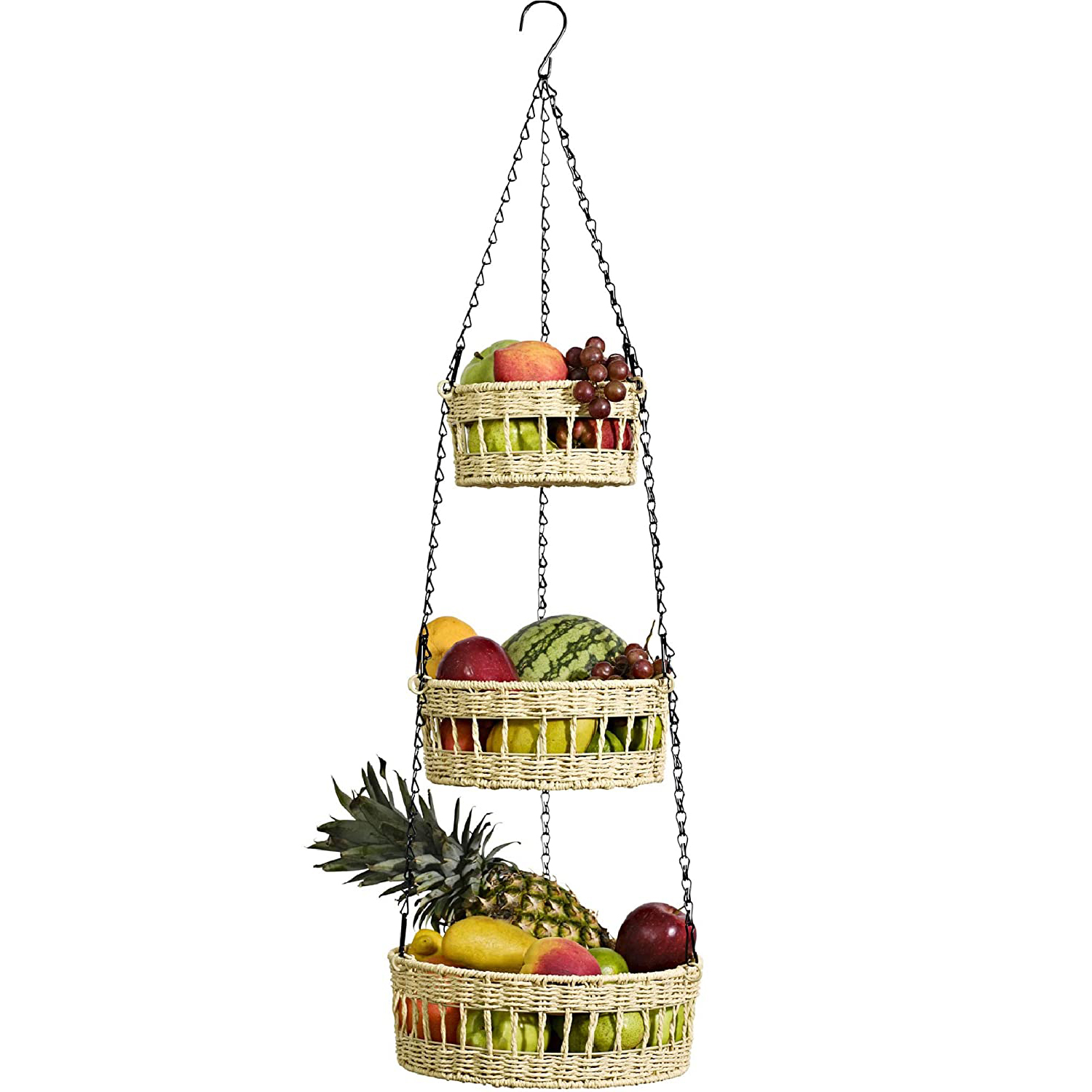 Hanging Fruit Stands Wall